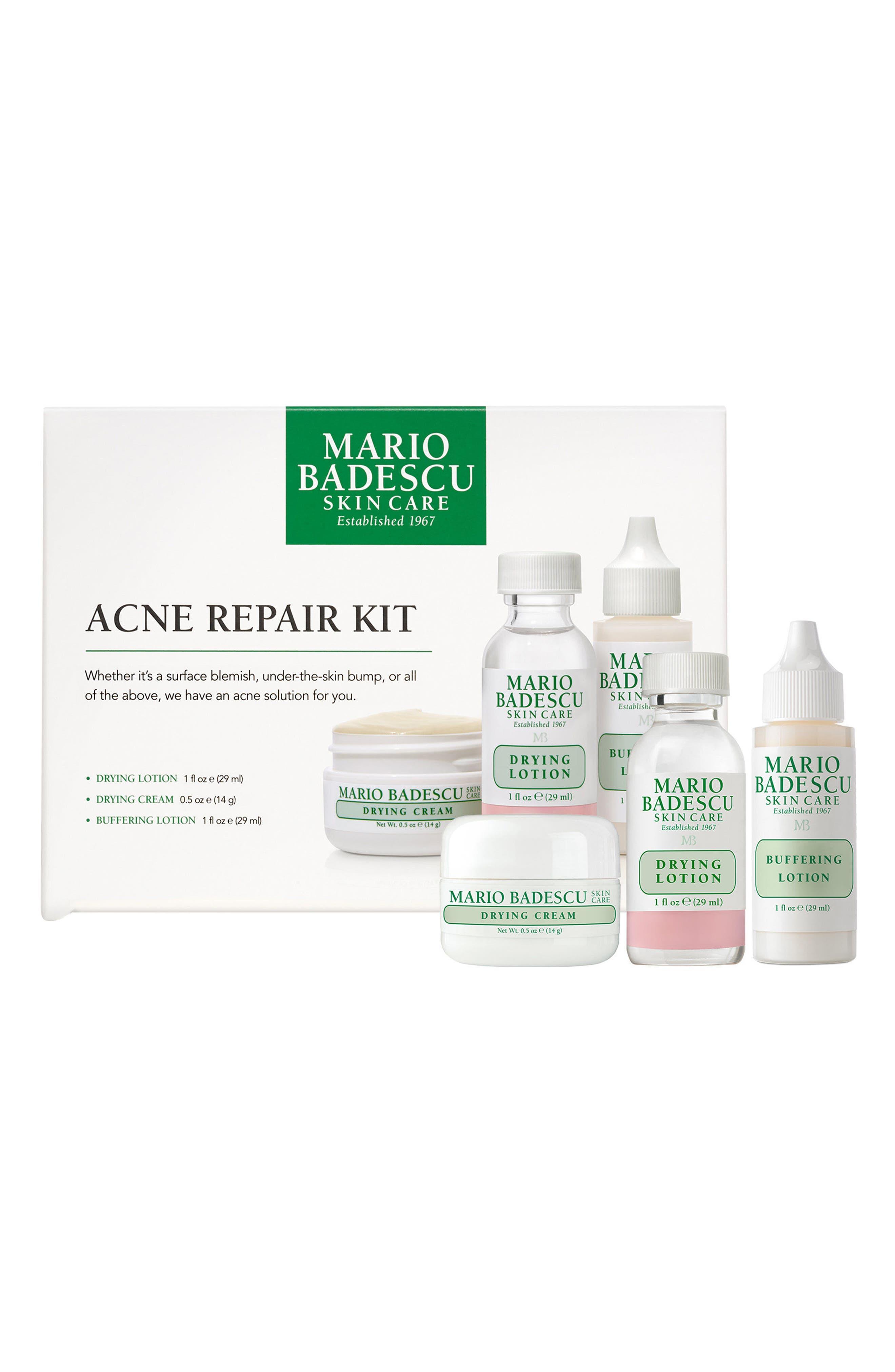 MARIO BADESCU, Acne Repair Kit, Alternate thumbnail 2, color, NO COLOR