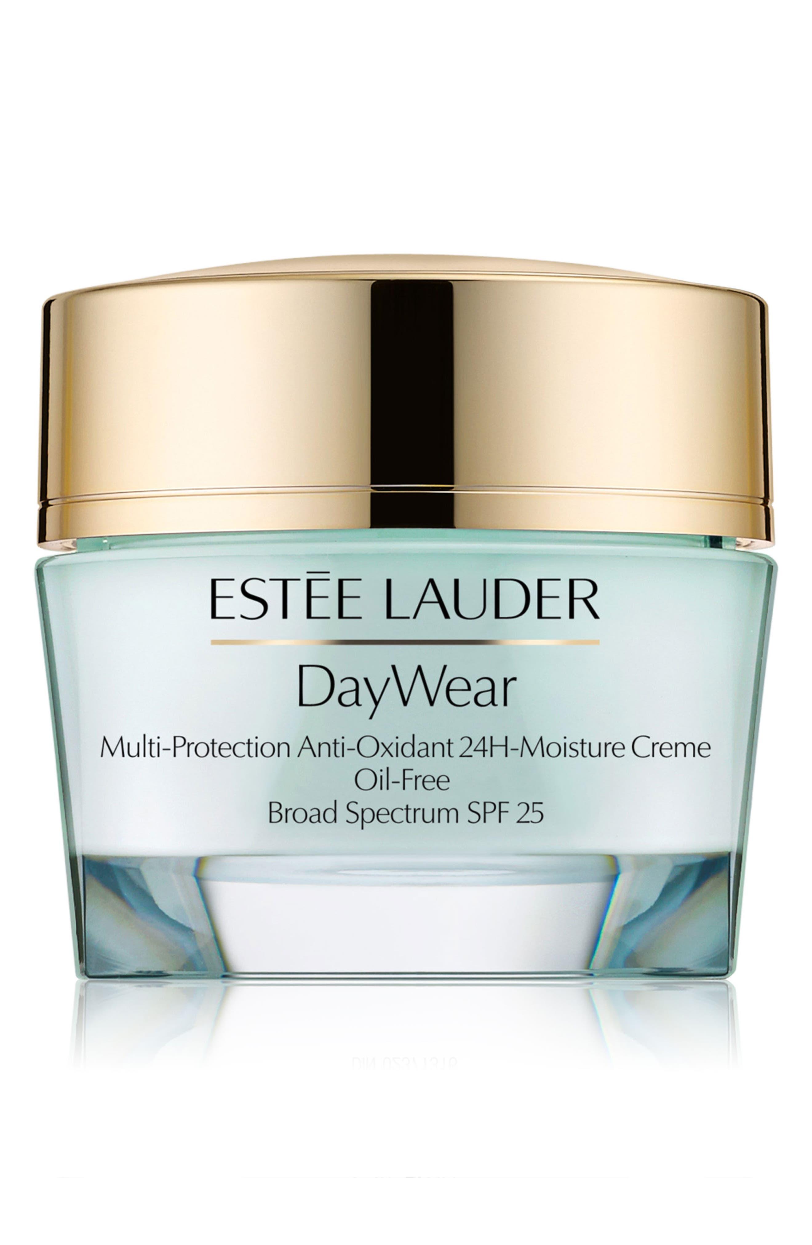 ESTÉE LAUDER, DayWear Multi-Protection 24H-Moisture Crème Oil-Free, Alternate thumbnail 2, color, NO COLOR