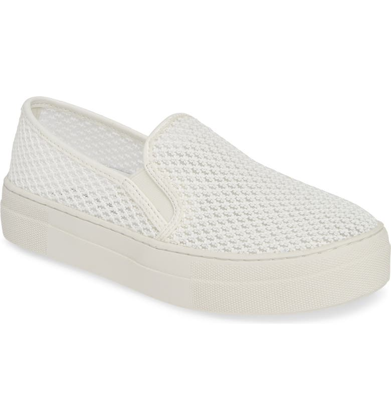 c34e4b27ee32 Steve Madden Gills-M Mesh Slip-On Sneaker (Women)