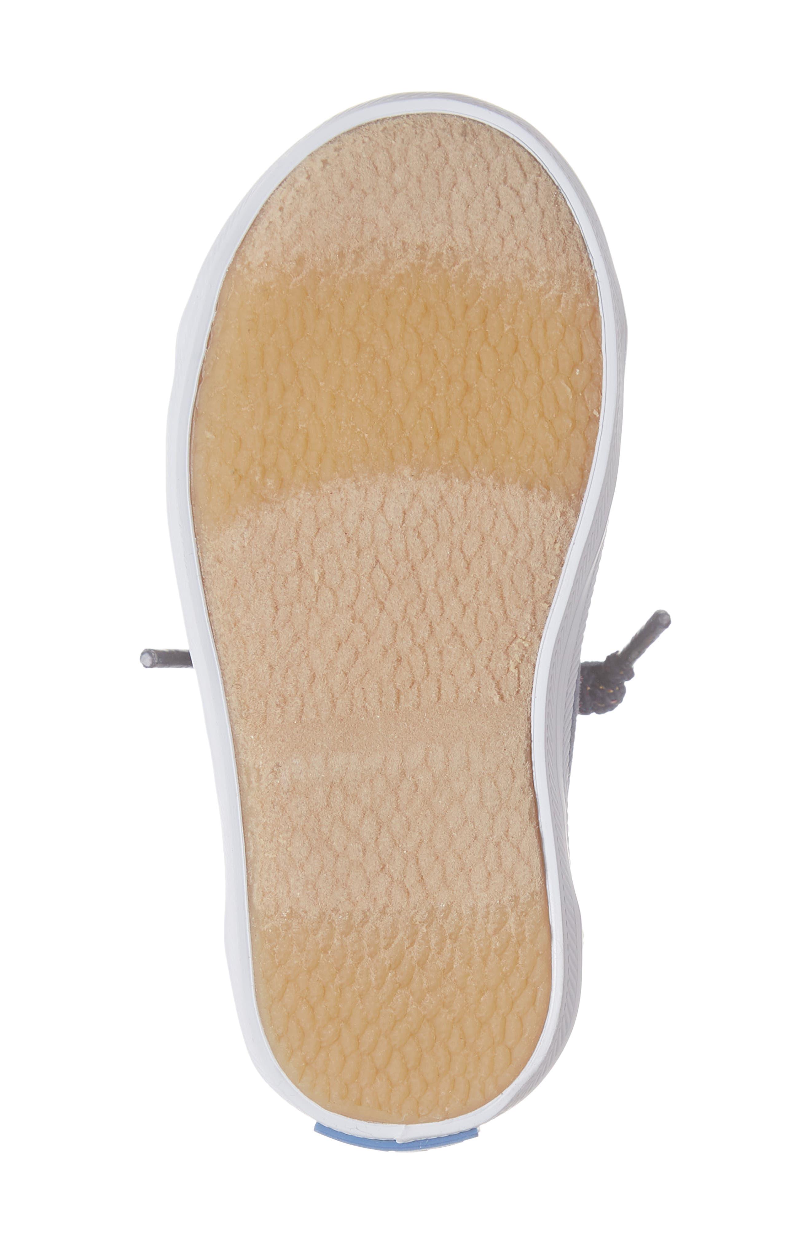 KEDS<SUP>®</SUP>, Kickstart Cap Toe Sneaker, Alternate thumbnail 6, color, STAR PERF