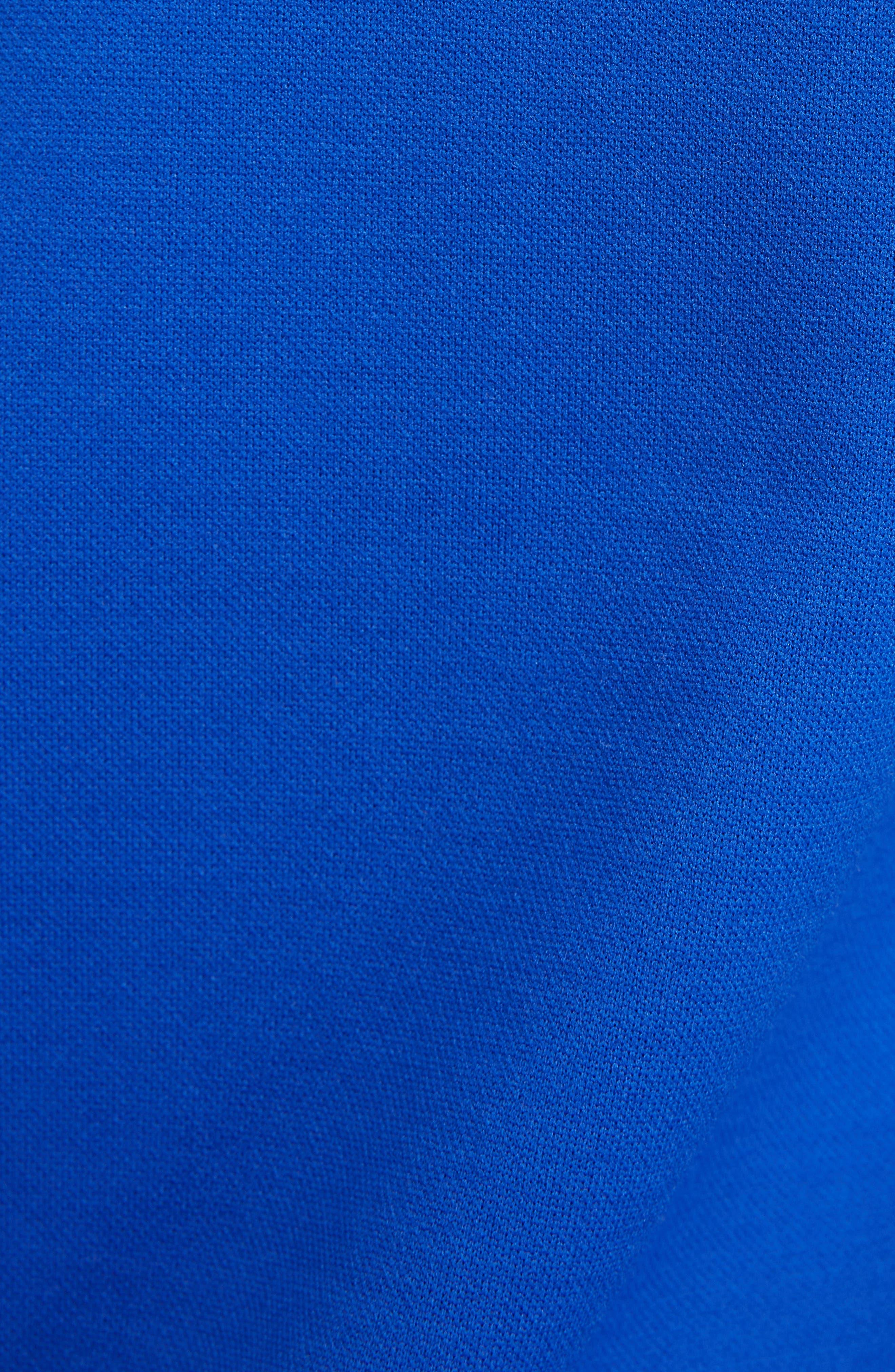 KENZO, Jacquard Raglan Sweatshirt, Alternate thumbnail 5, color, FRENCH BLUE