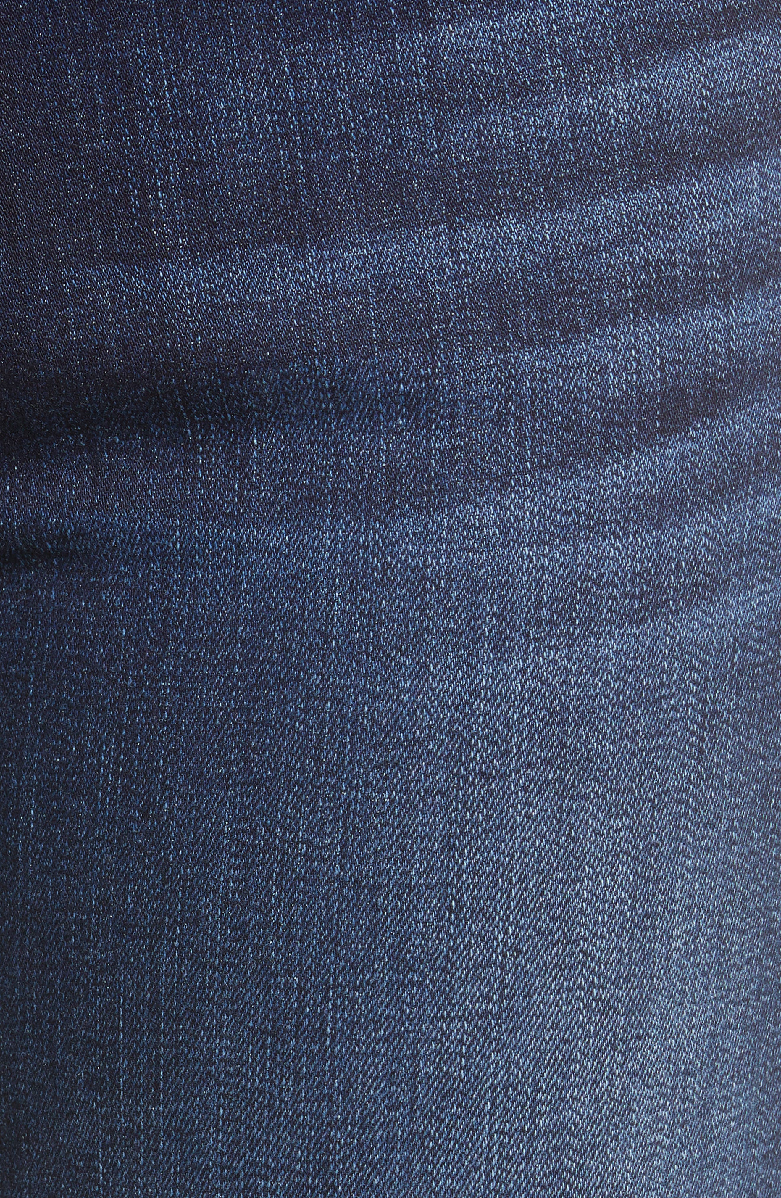 7 FOR ALL MANKIND<SUP>®</SUP>, b(air) Kimmie Bootcut Jeans, Alternate thumbnail 6, color, AUTHENTIC FATE