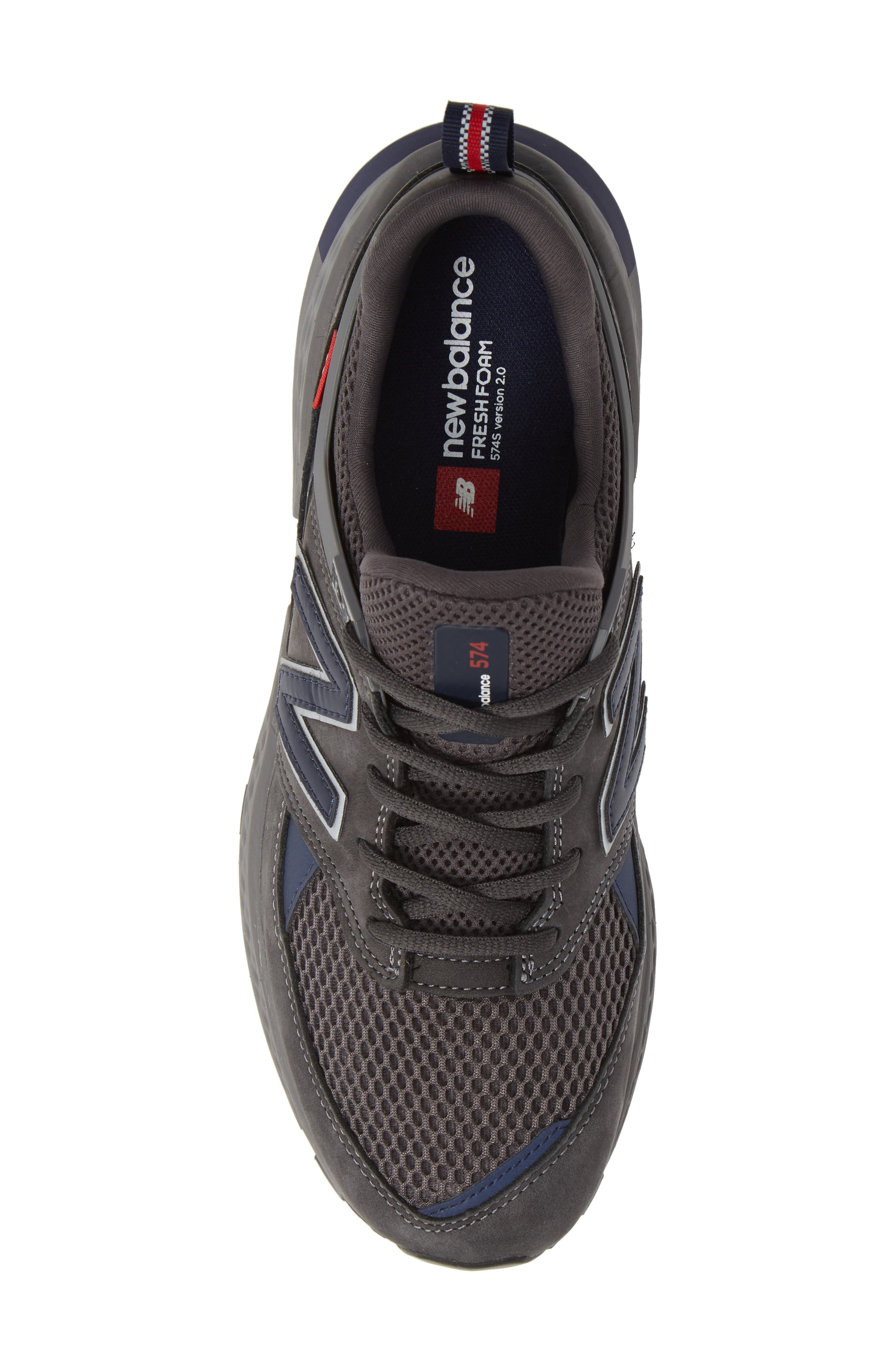NEW BALANCE, 574 Sport Sneaker, Alternate thumbnail 5, color, MAGNET