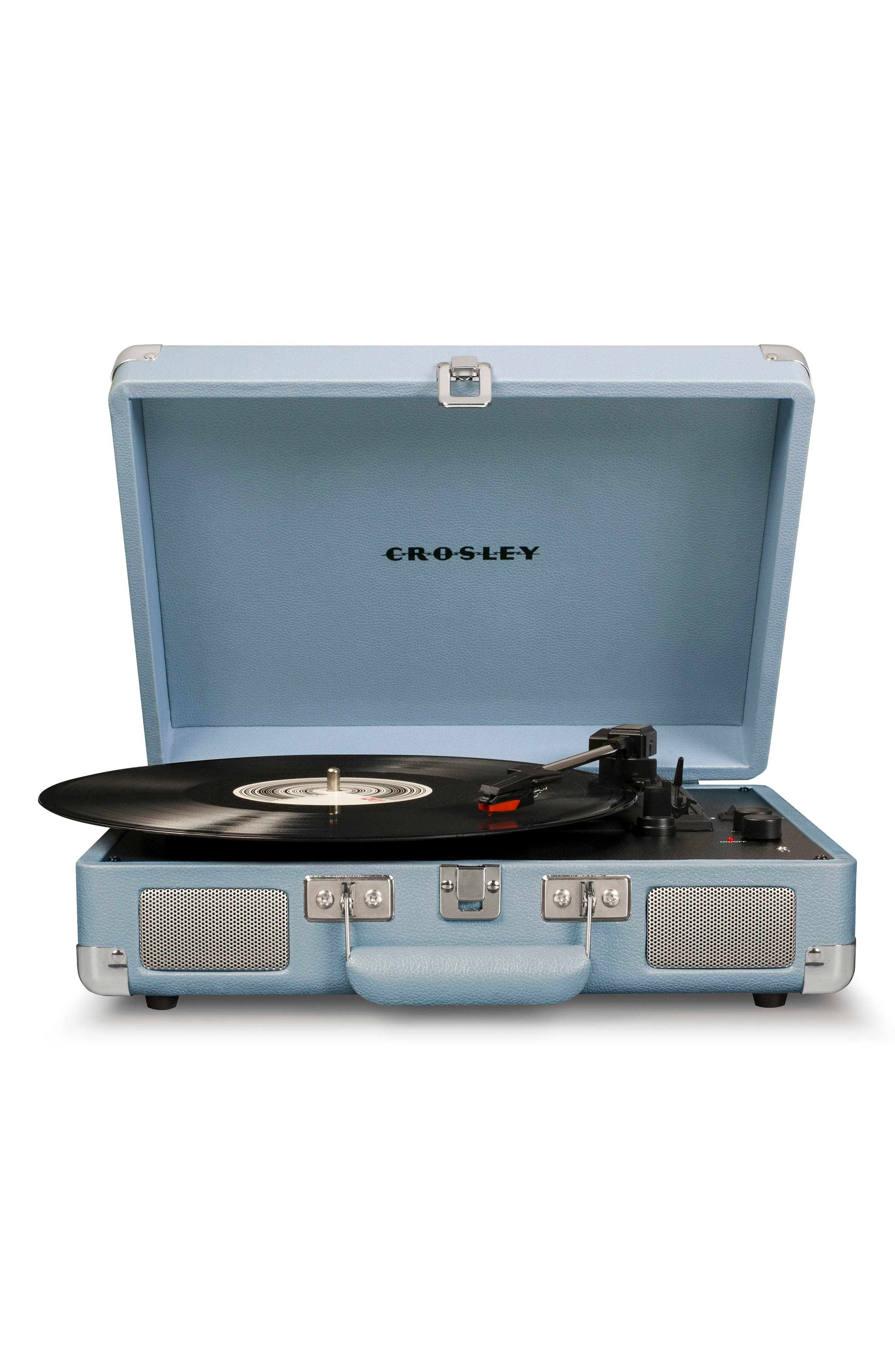 CROSLEY RADIO, Cruiser Deluxe Turntable, Main thumbnail 1, color, TOURMALINE