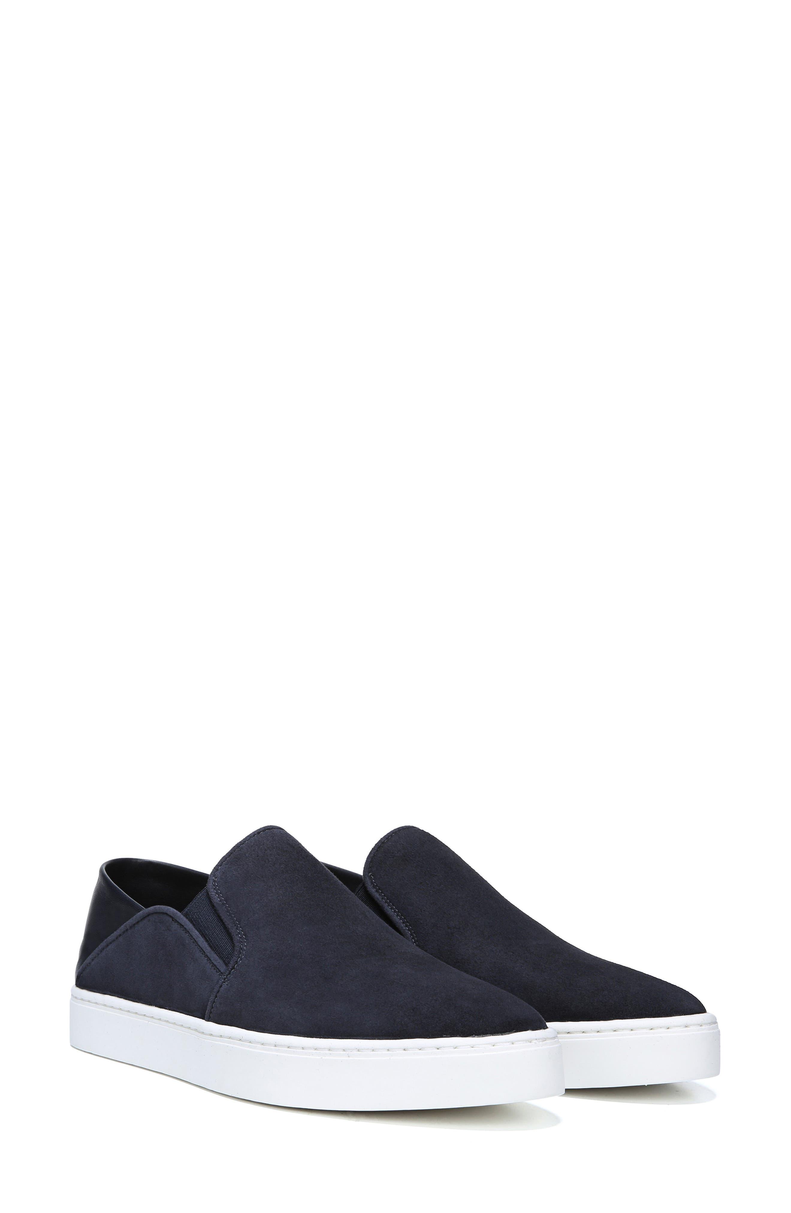 VINCE, Garvey Slip-On Sneaker, Alternate thumbnail 6, color, COASTAL