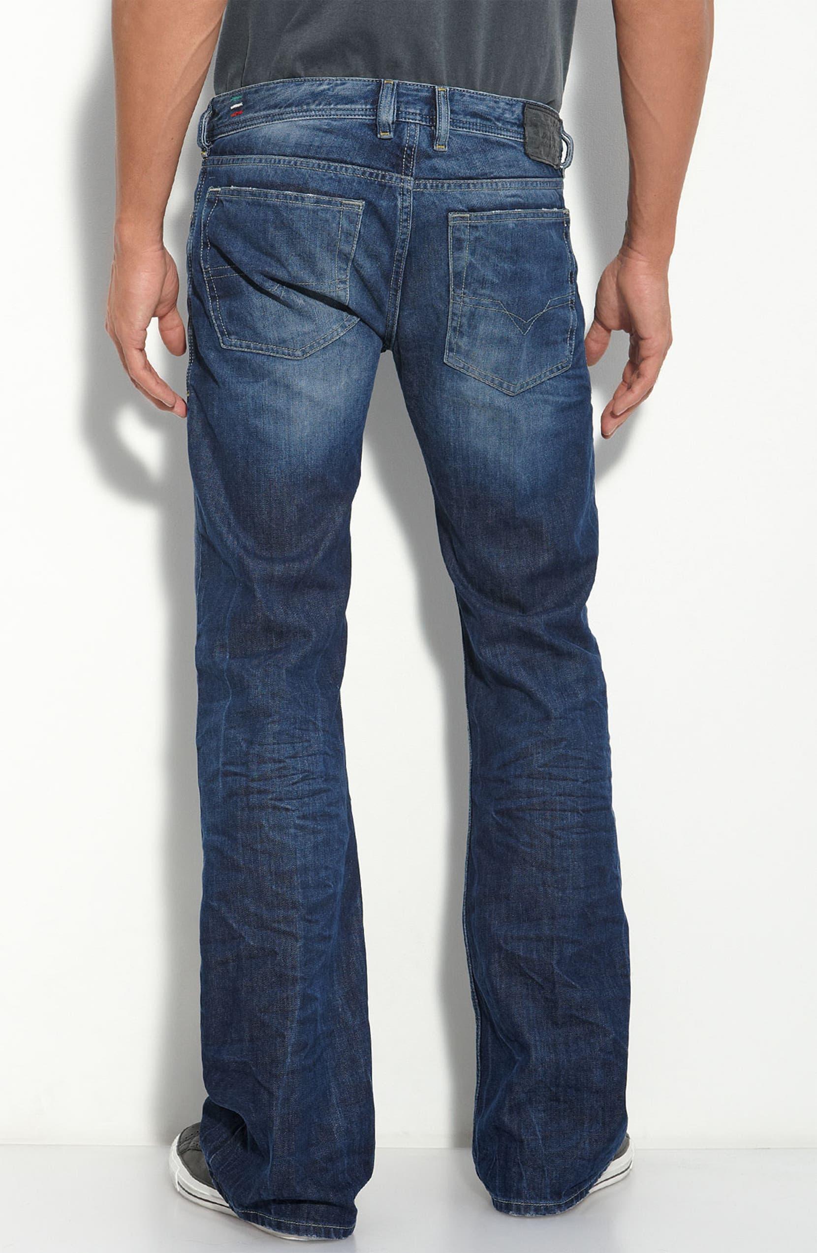 78fd8449 DIESEL® 'Zathan' Bootcut Jeans (8M2) | Nordstrom