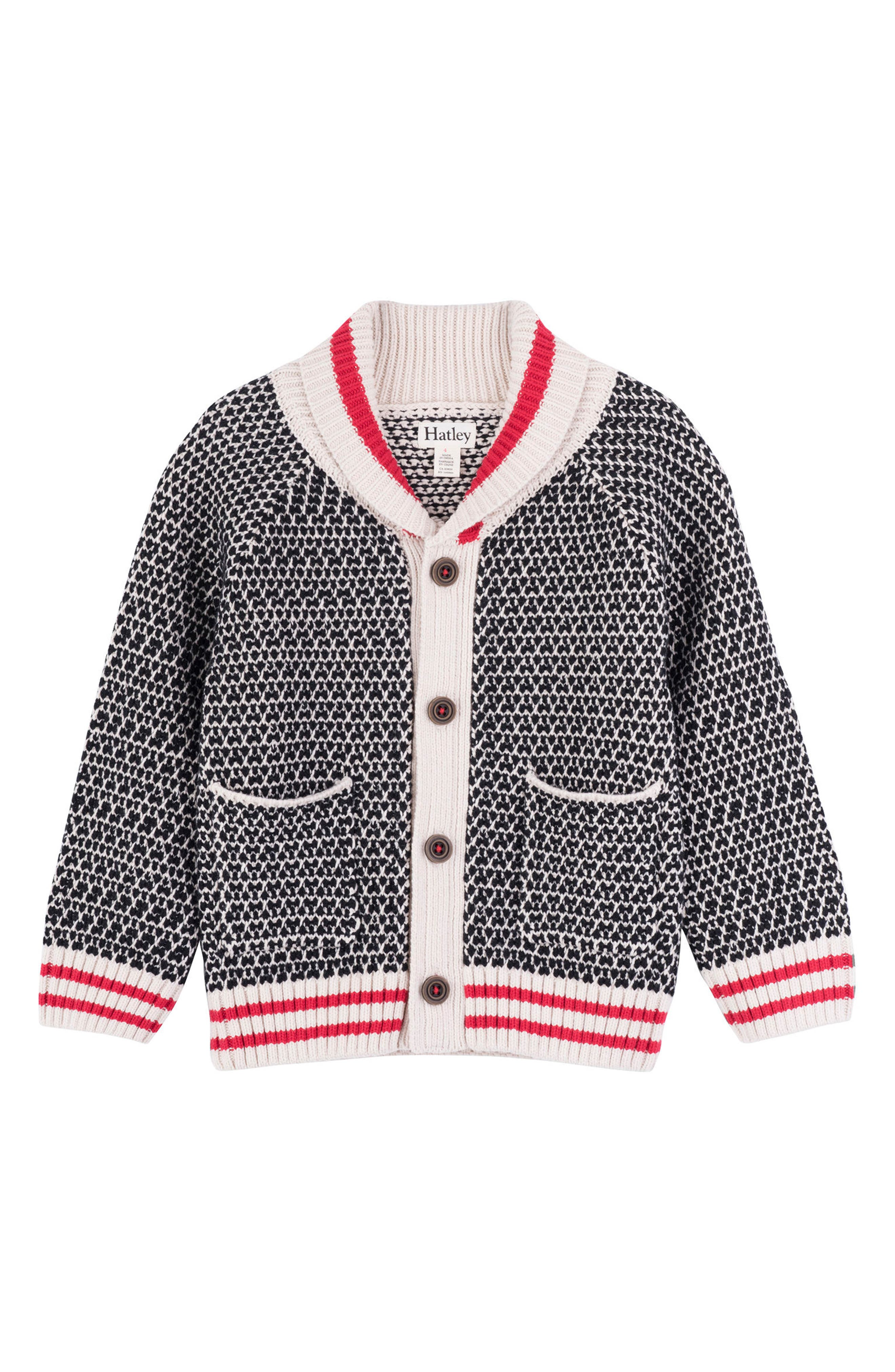 HATLEY, Shawl Collar Cardigan, Main thumbnail 1, color, 020