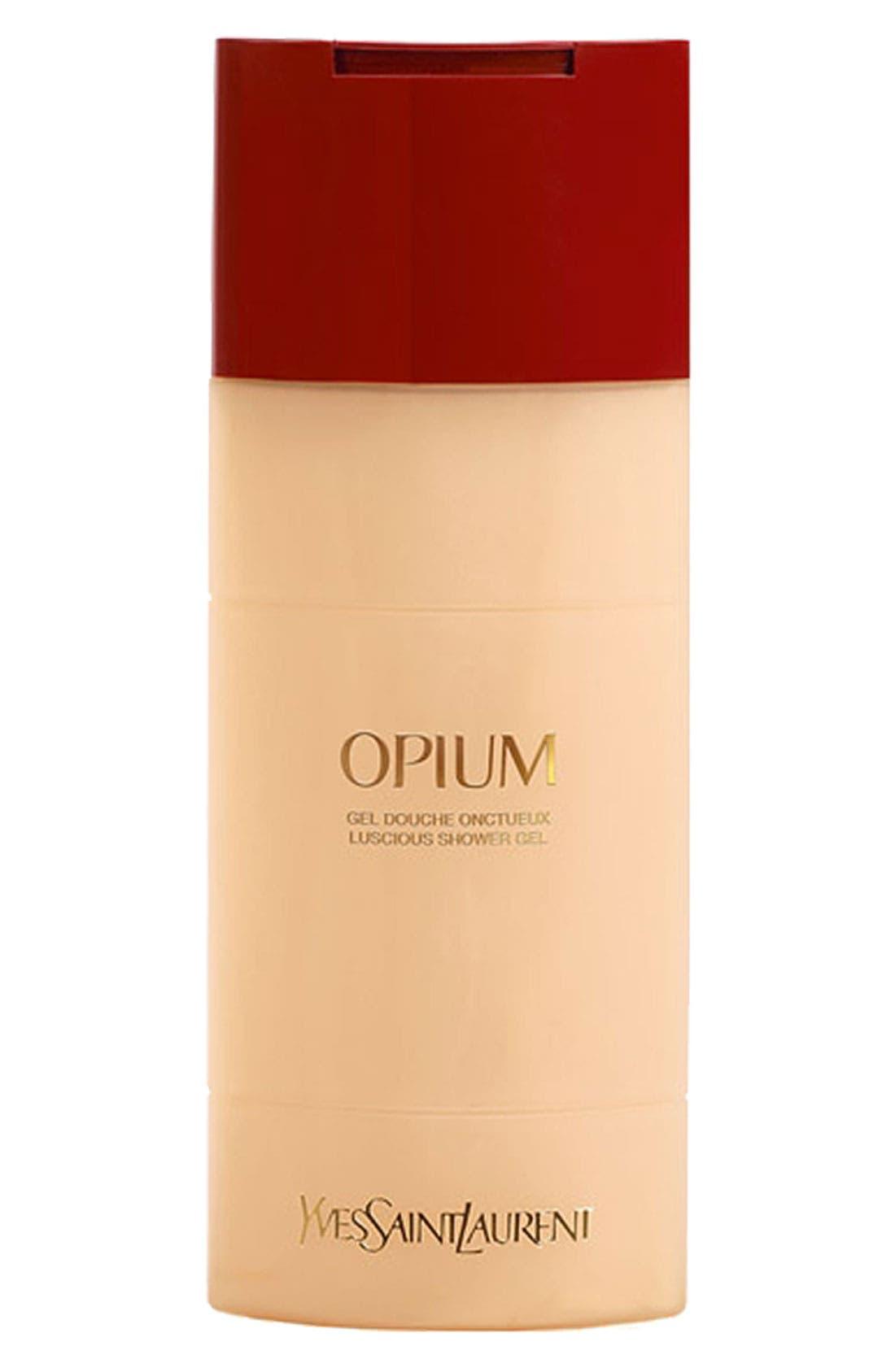YVES SAINT LAURENT, Opium Luscious Shower Gel, Main thumbnail 1, color, NO COLOR