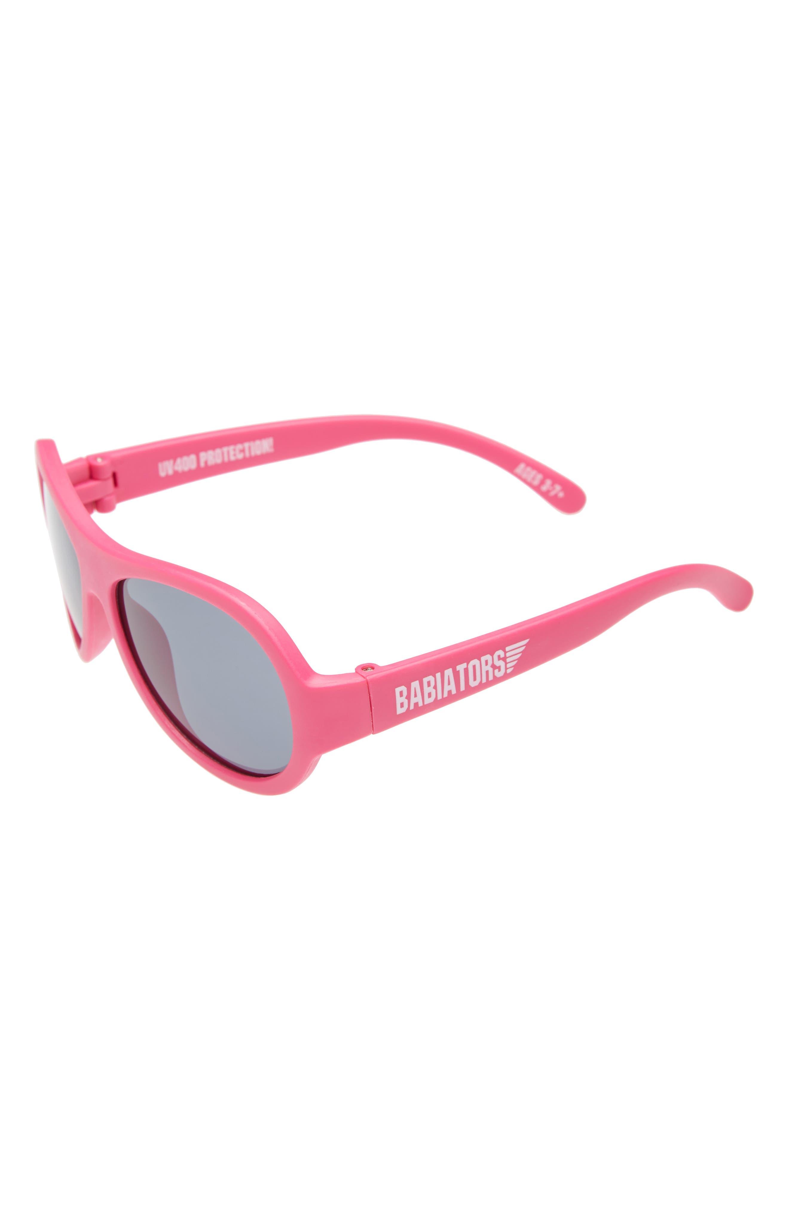 BABIATORS, Original Aviator Sunglasses, Main thumbnail 1, color, POPSTAR PINK