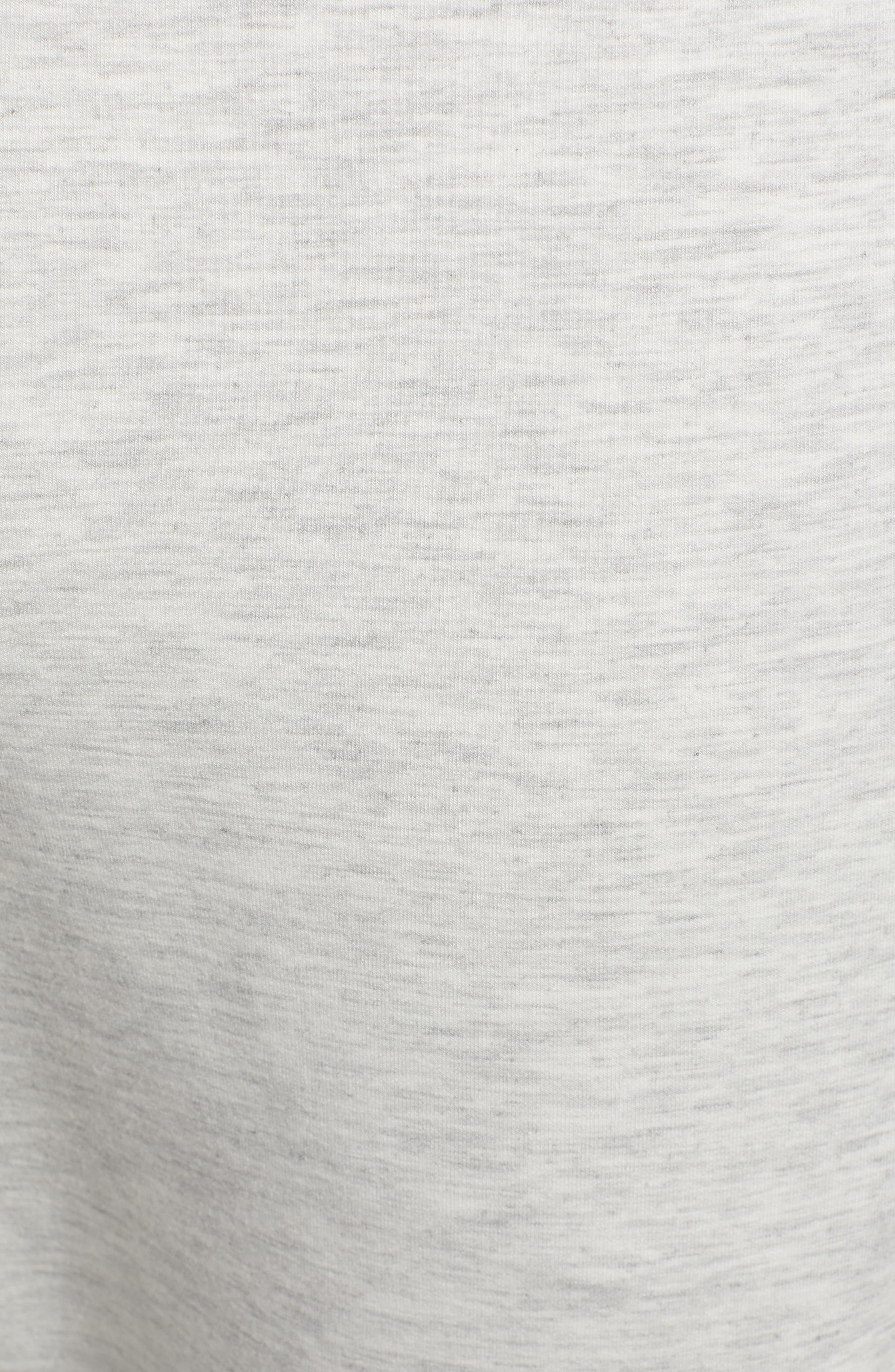 ZELLA, Zip Pocket Tech Jogger Pants, Alternate thumbnail 6, color, WHITE OXIDE MELANGE