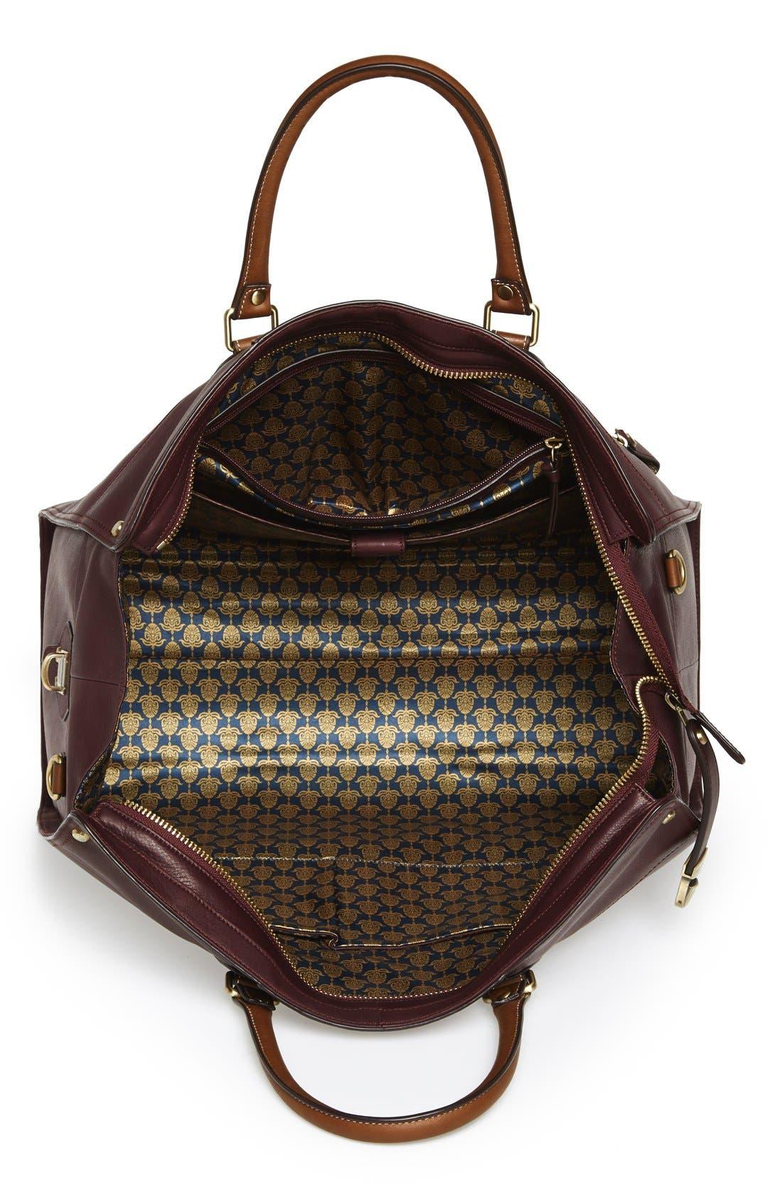 TED BAKER LONDON, 'Kimyay' Duffel Bag, Alternate thumbnail 4, color, 939
