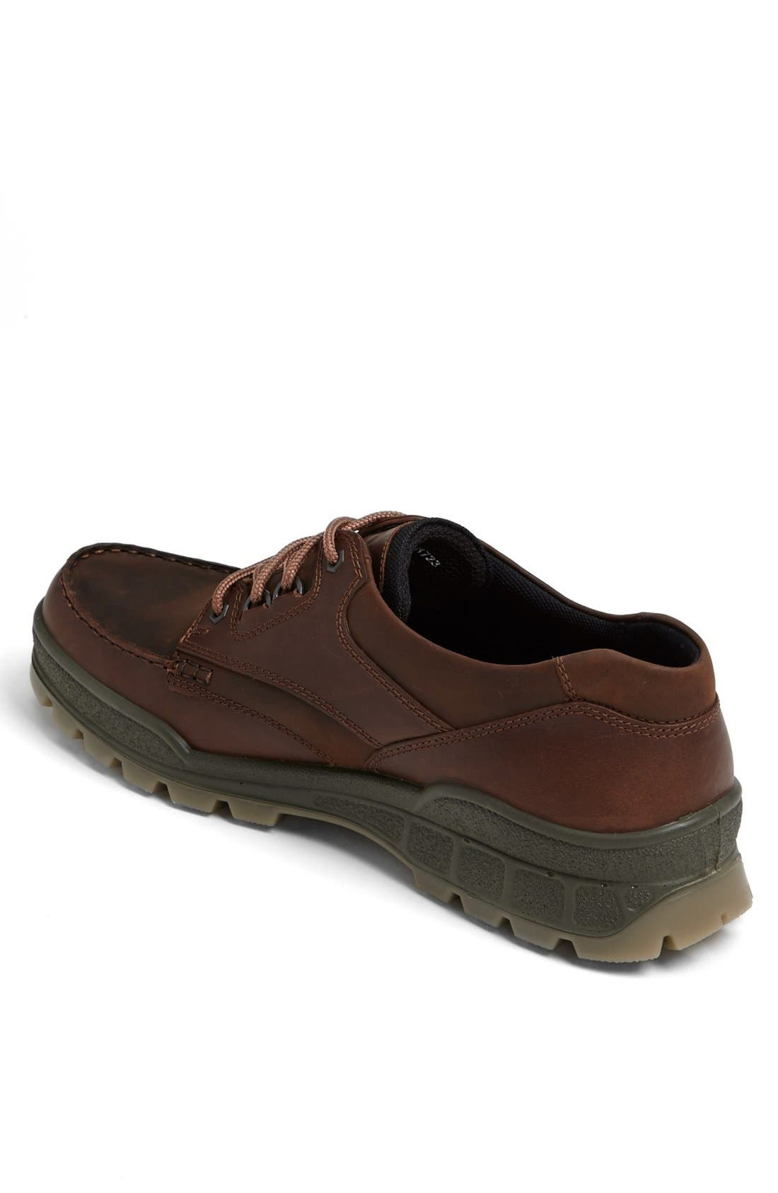 ECCO, 'Track II Moc Low' Oxford, Alternate thumbnail 3, color, BROWN