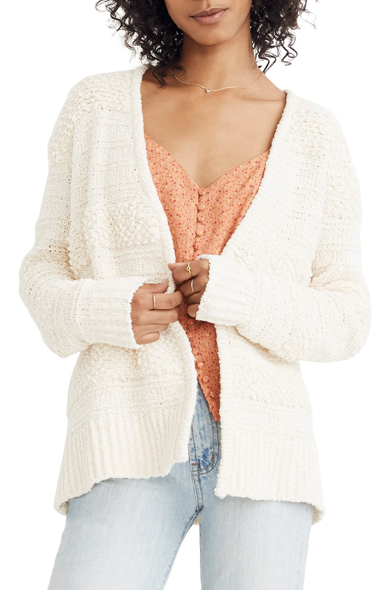 MADEWELL, Bronson Cardigan, Main thumbnail 1, color, 900