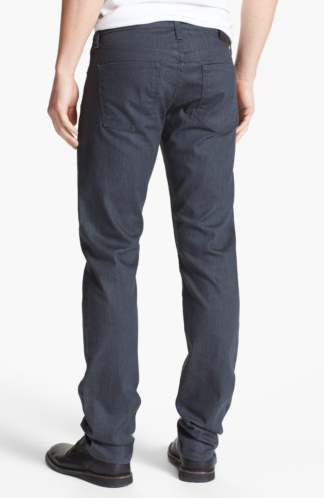 J BRAND, Tyler Slim Fit Jeans, Alternate thumbnail 4, color, SLATE RESIN