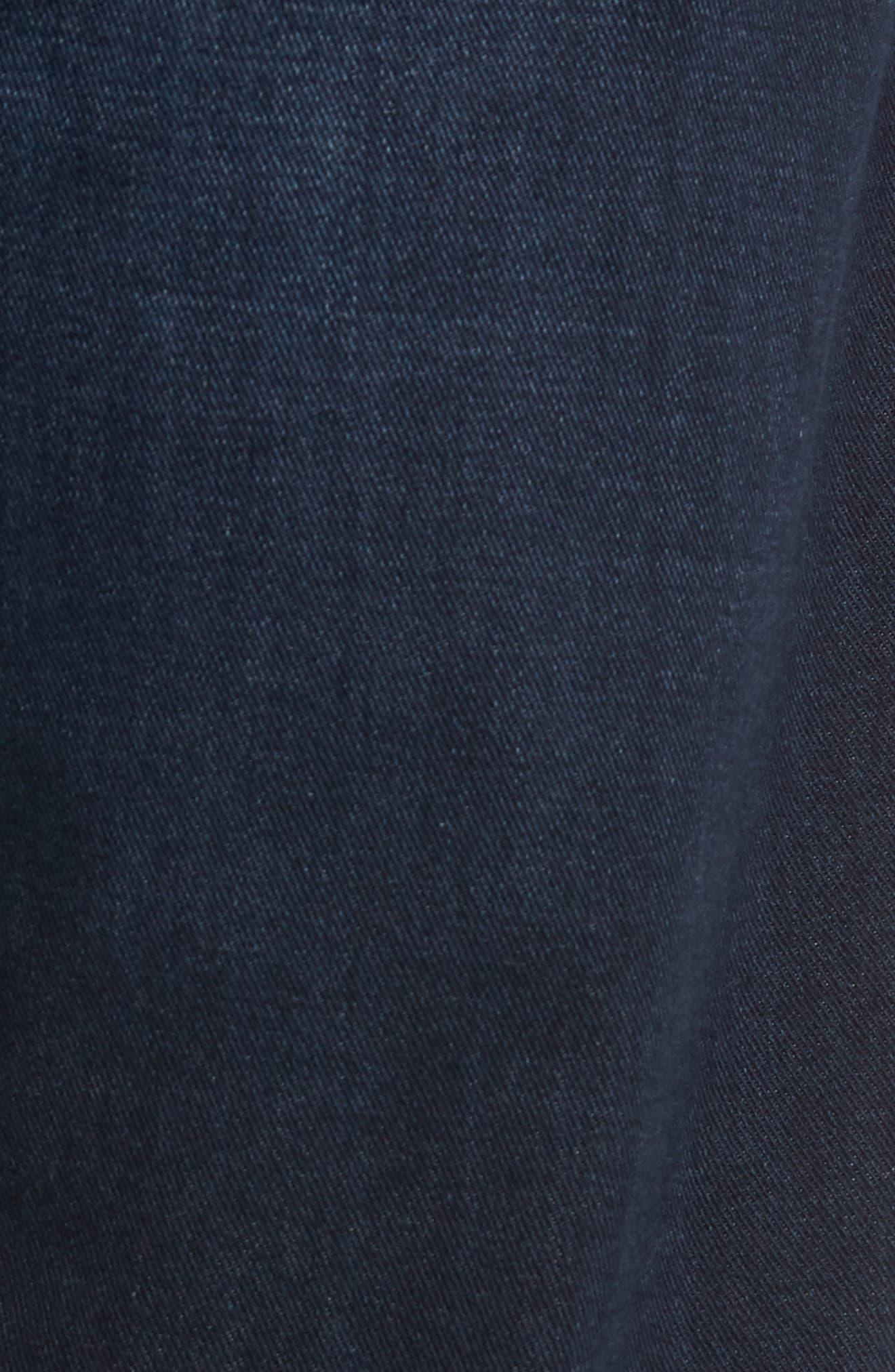 AG, Ives Straight Leg Jeans, Alternate thumbnail 6, color, COVET