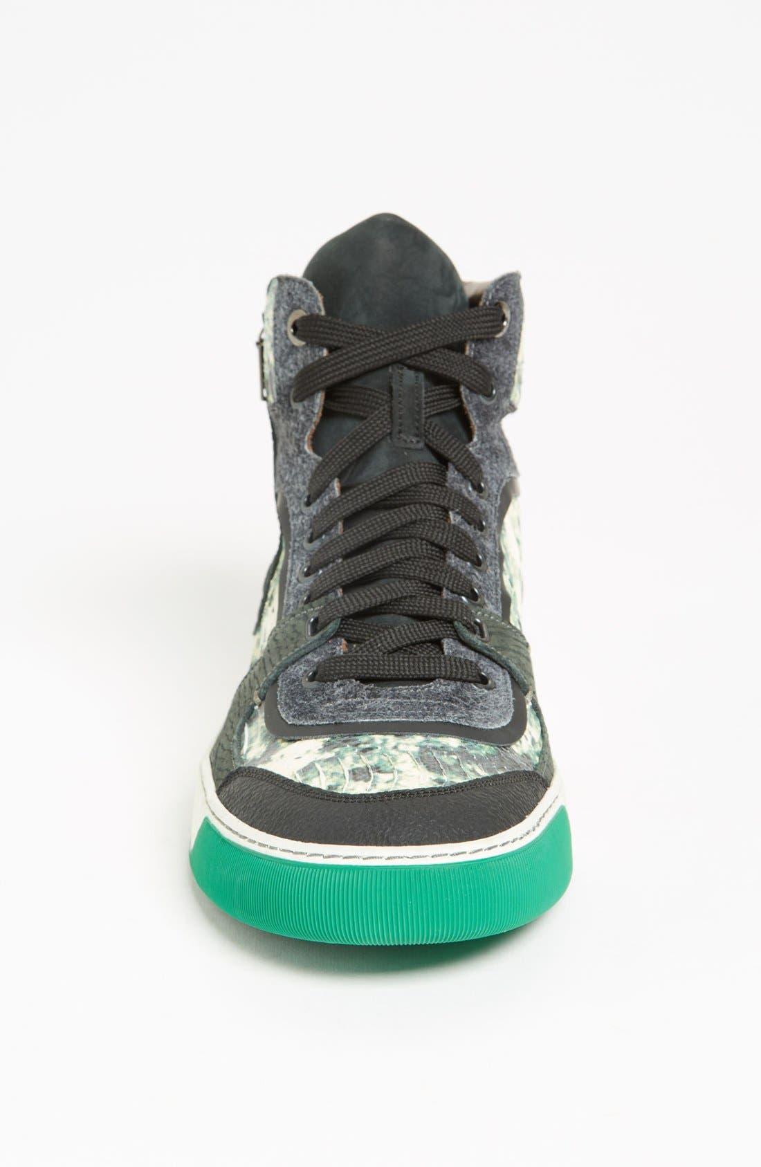 LANVIN, High Top Sneaker, Alternate thumbnail 2, color, 300