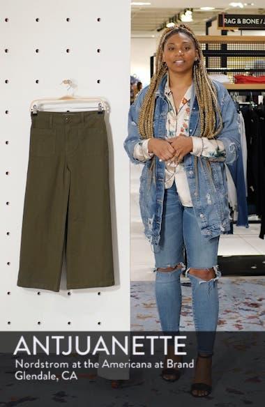 Point Sur Washed Wide Leg Crop Pants, sales video thumbnail