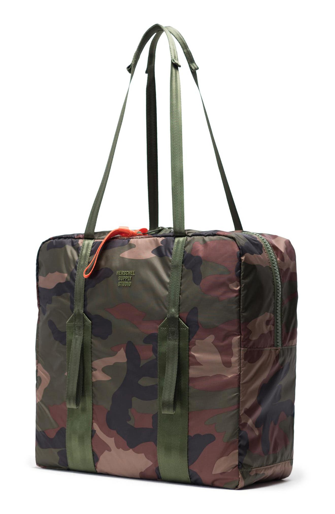 HERSCHEL SUPPLY CO., HS7 Studio Tote, Alternate thumbnail 3, color, WOODLAND CAMO