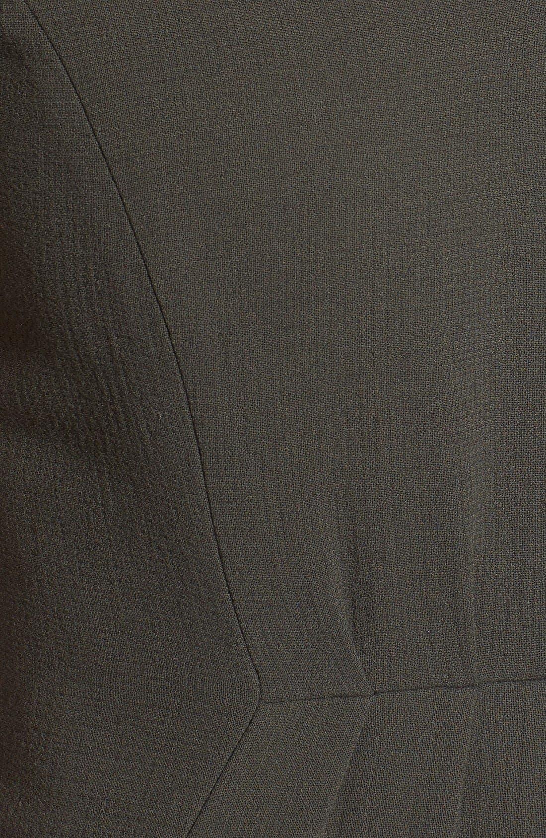 CLASSIQUES ENTIER<SUP>®</SUP>, V-Neck Double Cloth Sheath Dress, Alternate thumbnail 2, color, 301