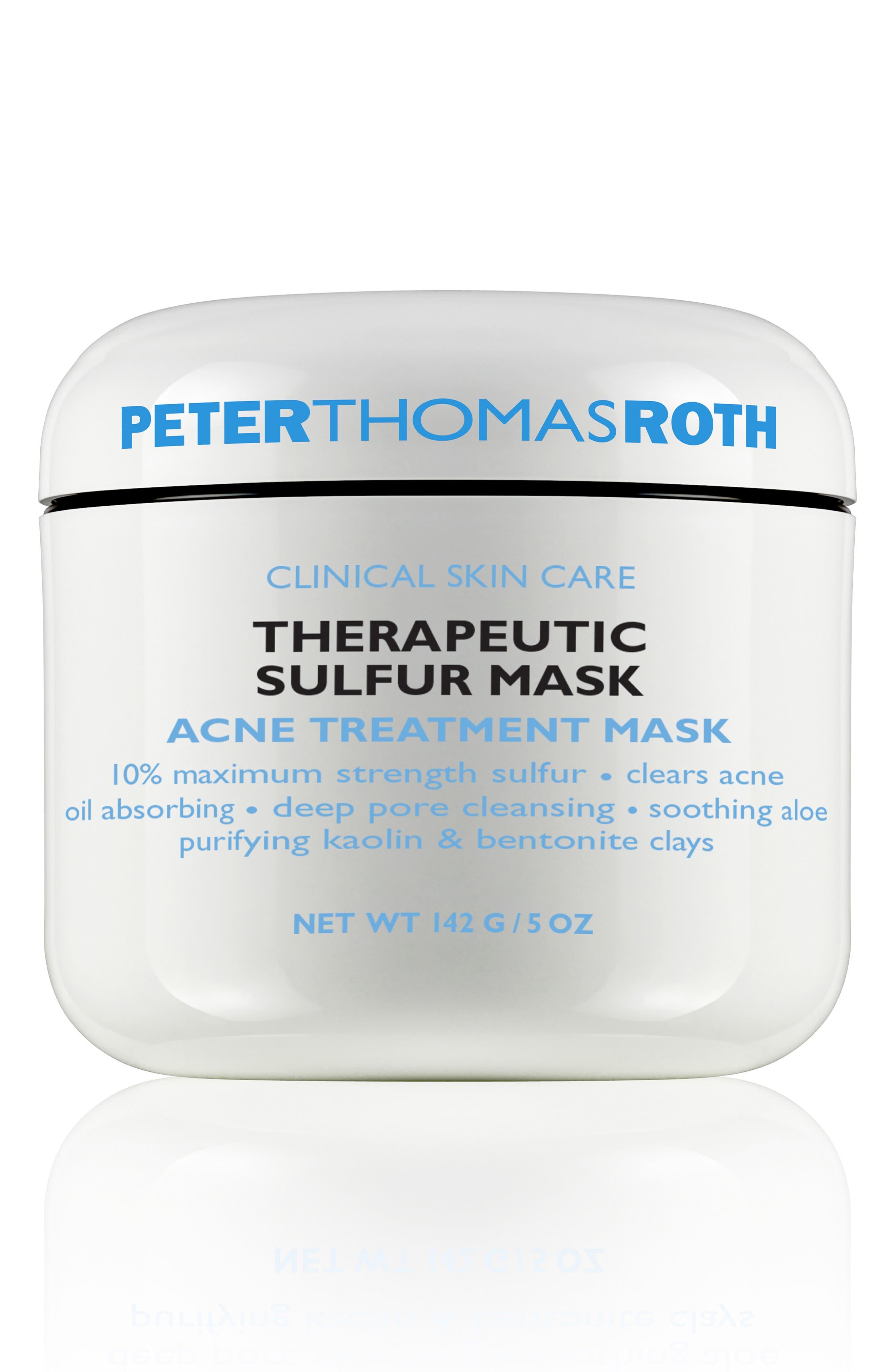 PETER THOMAS ROTH, Sulfur Cooling Masque, Main thumbnail 1, color, NO COLOR