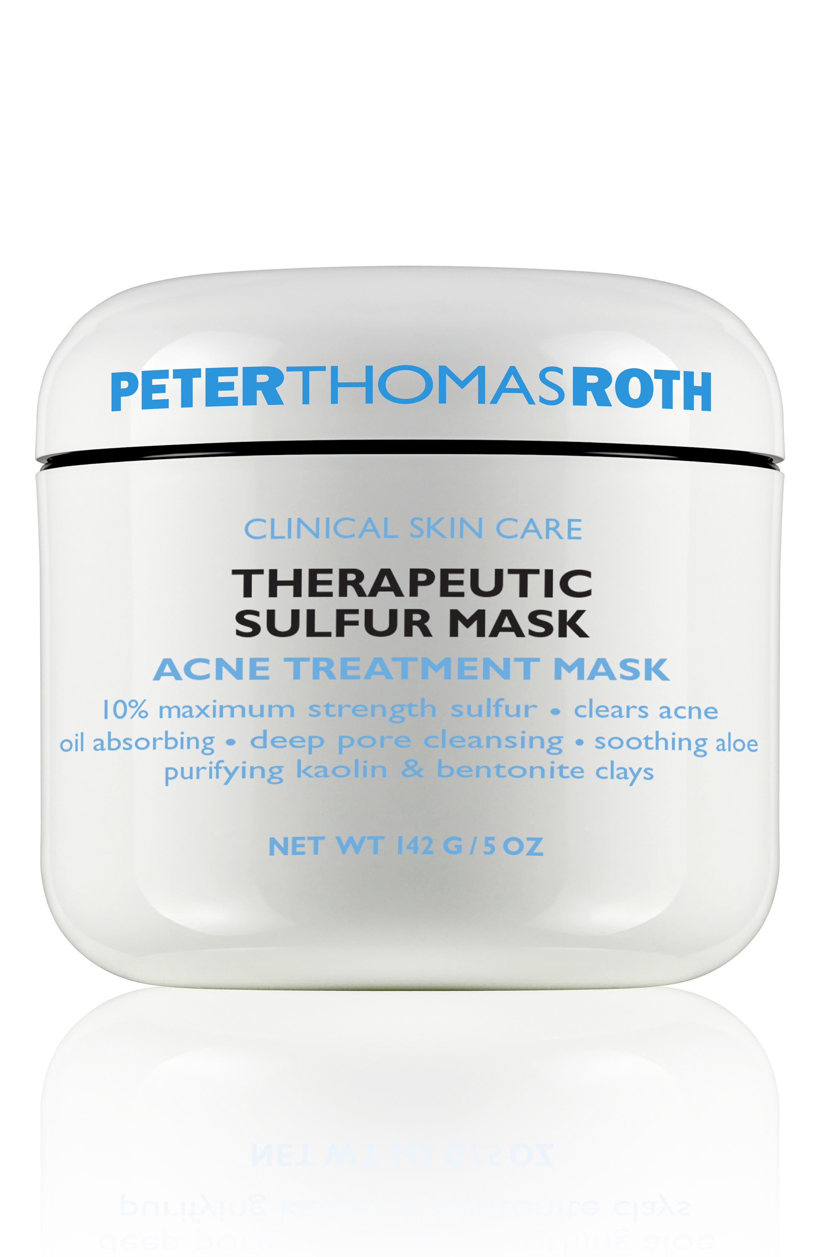 PETER THOMAS ROTH Sulfur Cooling Masque, Main, color, NO COLOR