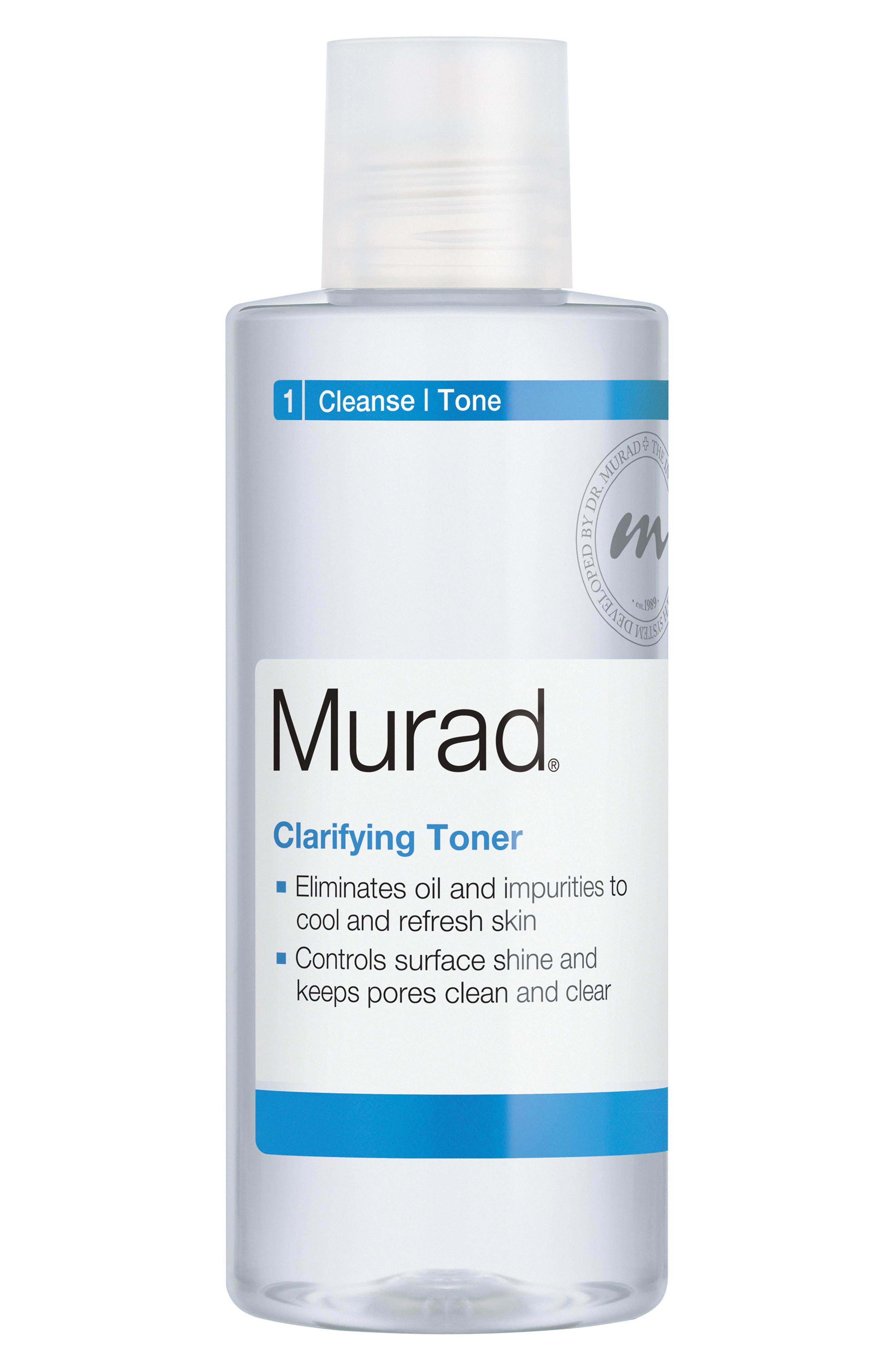 MURAD<SUP>®</SUP>, Clarifying Toner, Alternate thumbnail 2, color, NO COLOR