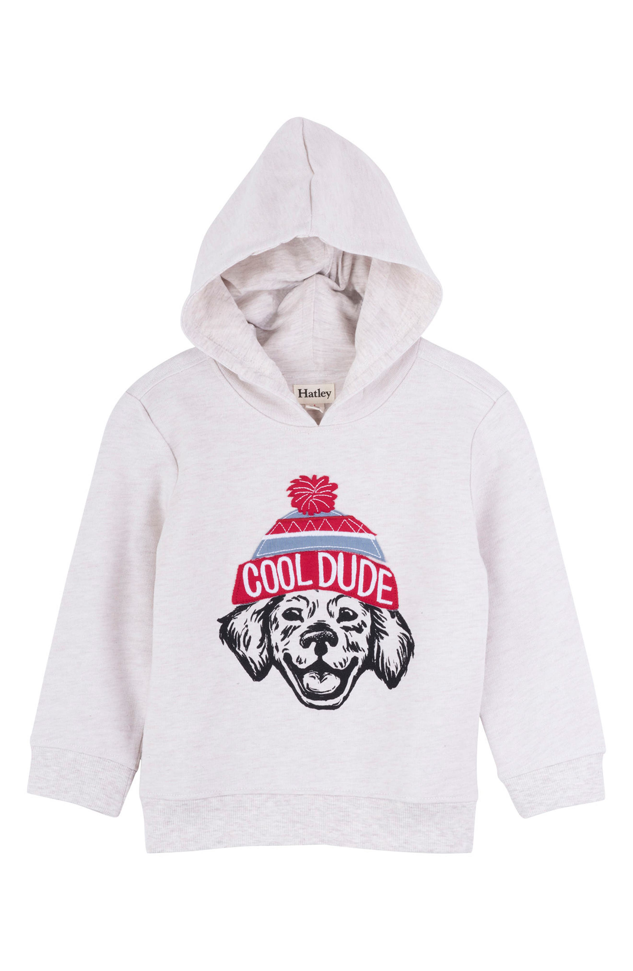 HATLEY, Cool Dude Hooded Pullover, Main thumbnail 1, color, 020