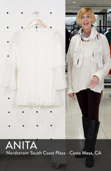 Waterlily Pleated Minidress, sales video thumbnail