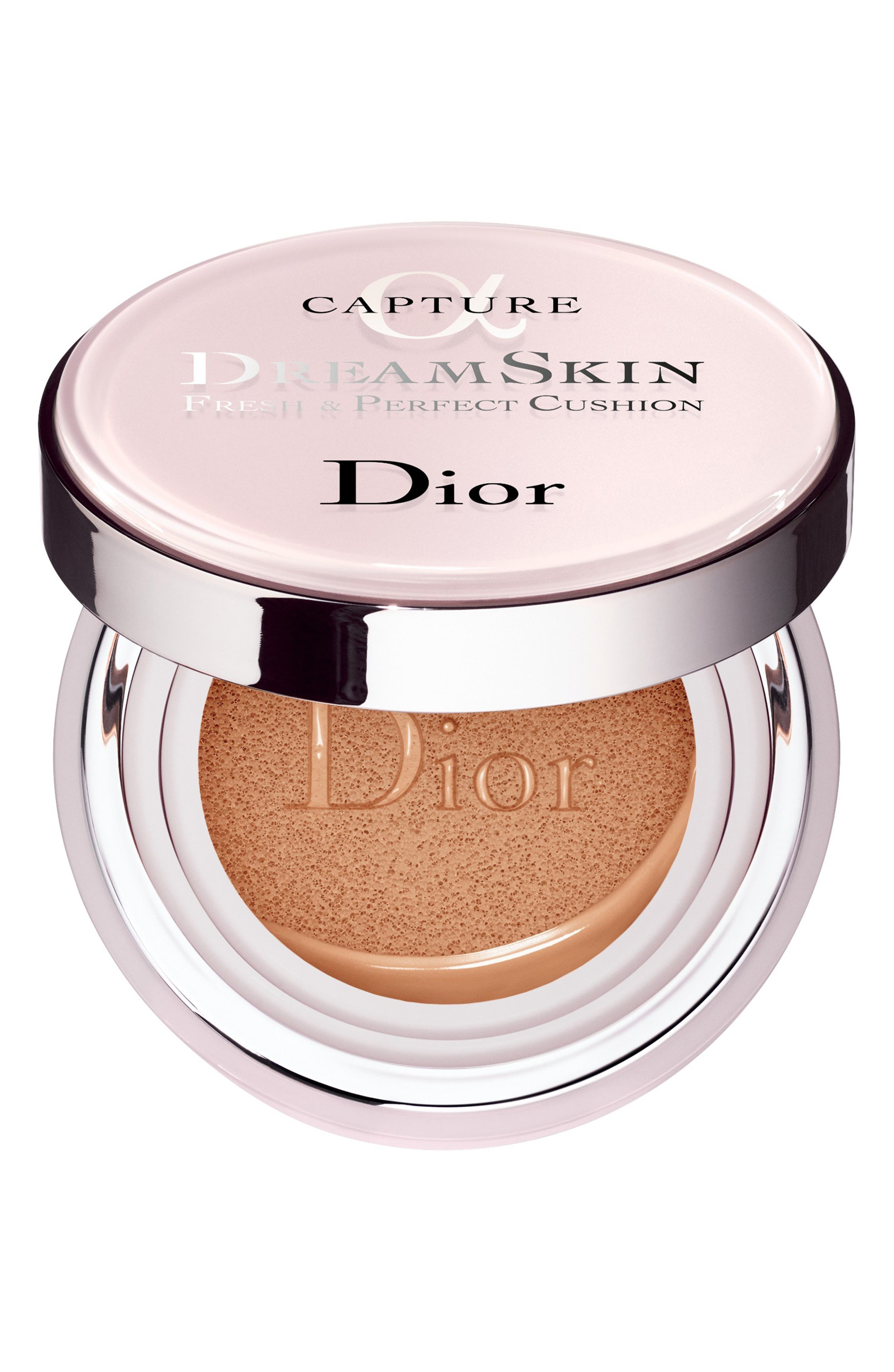 DIOR, DreamSkin Fresh & Perfect Cushion Broad Spectrum SPF 50, Main thumbnail 1, color, 025