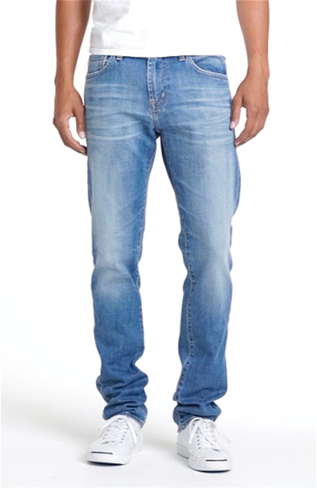 AG, 'Dylan' Slim Skinny Leg Jeans, Alternate thumbnail 5, color, 454