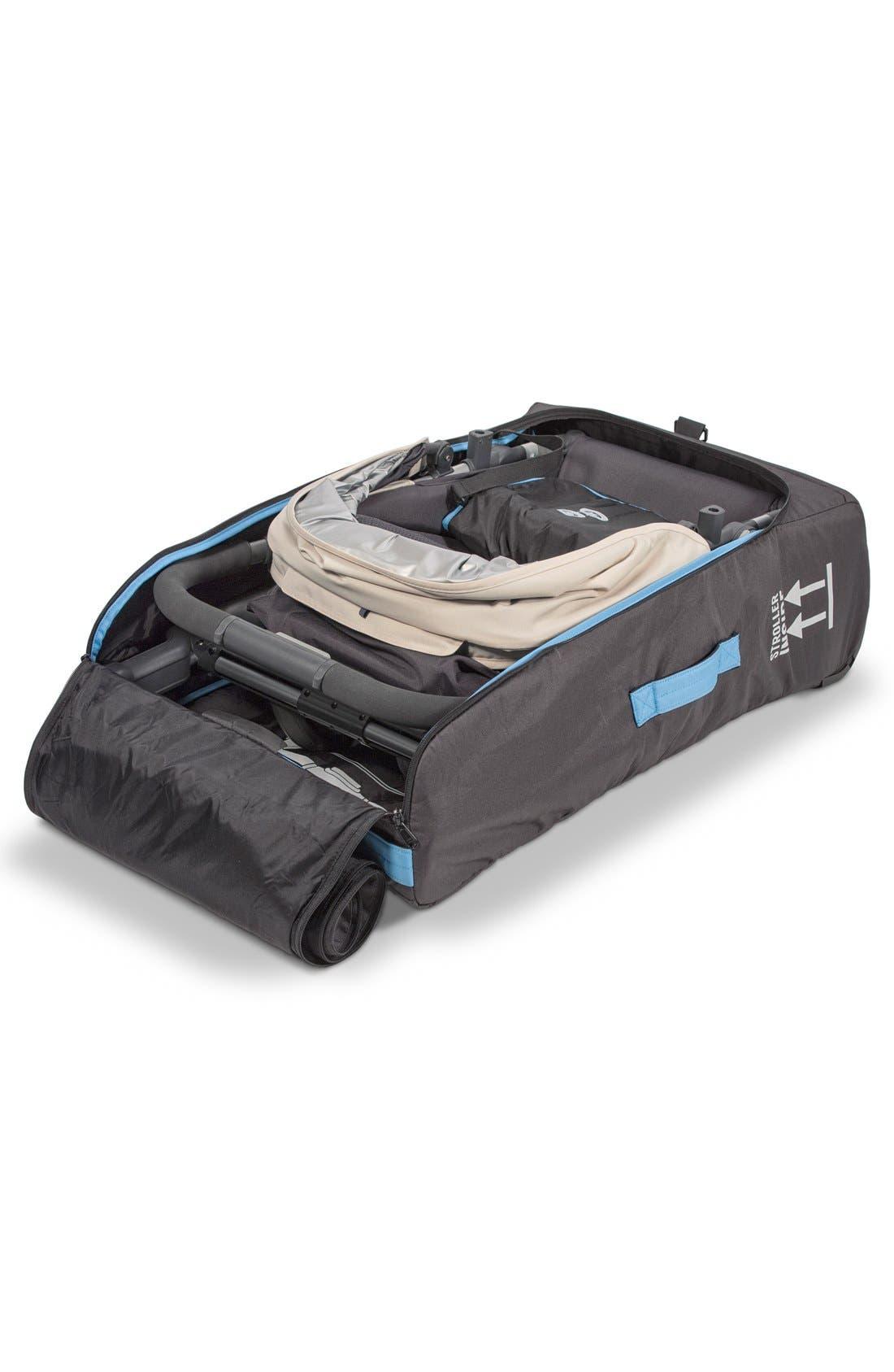 UPPABABY, VISTA TravelSafe Travel Bag, Alternate thumbnail 2, color, BLACK
