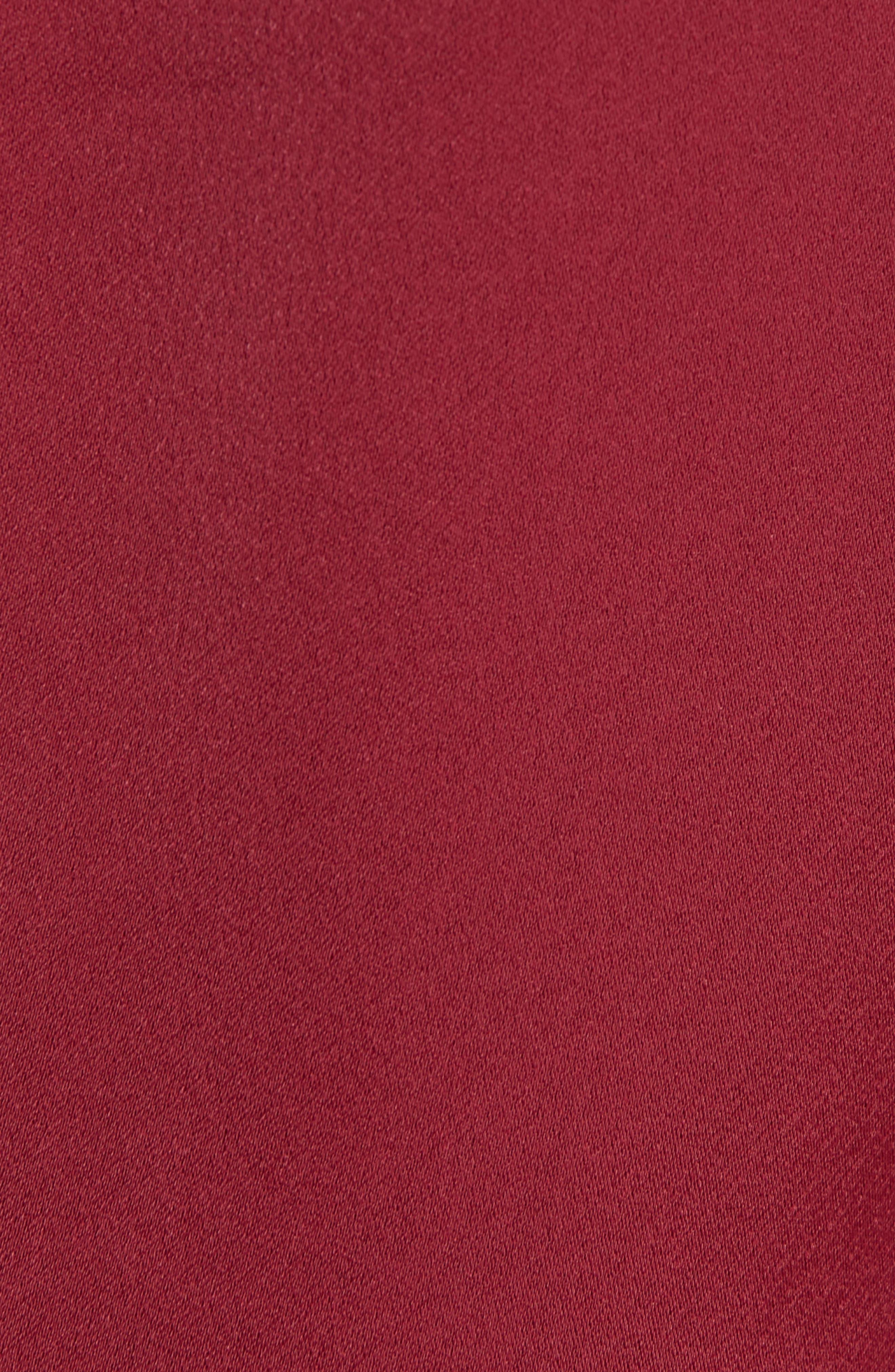 TED BAKER LONDON, Juudy Embellished Sleeve Blouse, Alternate thumbnail 5, color, 930