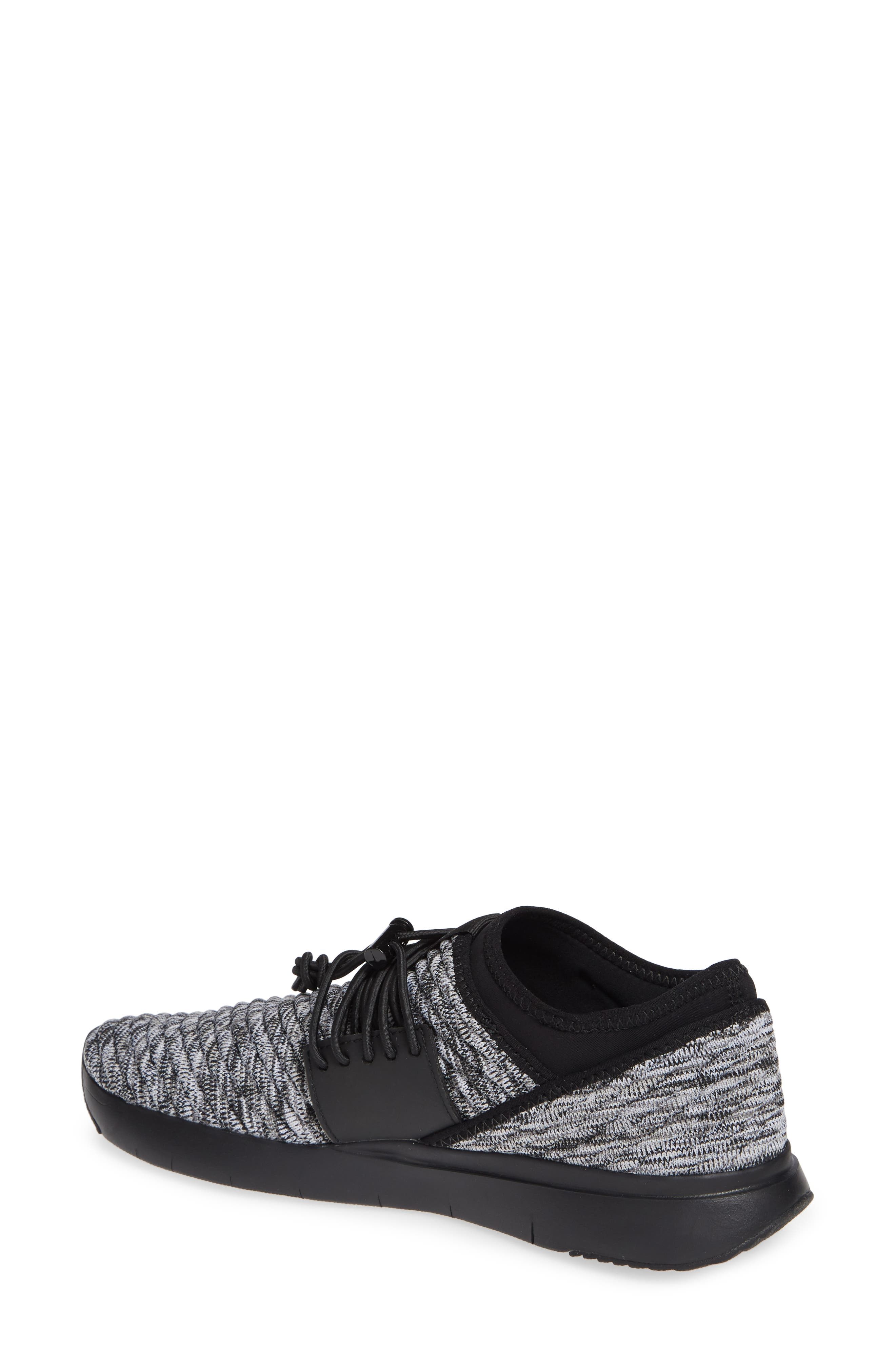 FITFLOP, Artknit Sock Sneaker, Alternate thumbnail 2, color, 017
