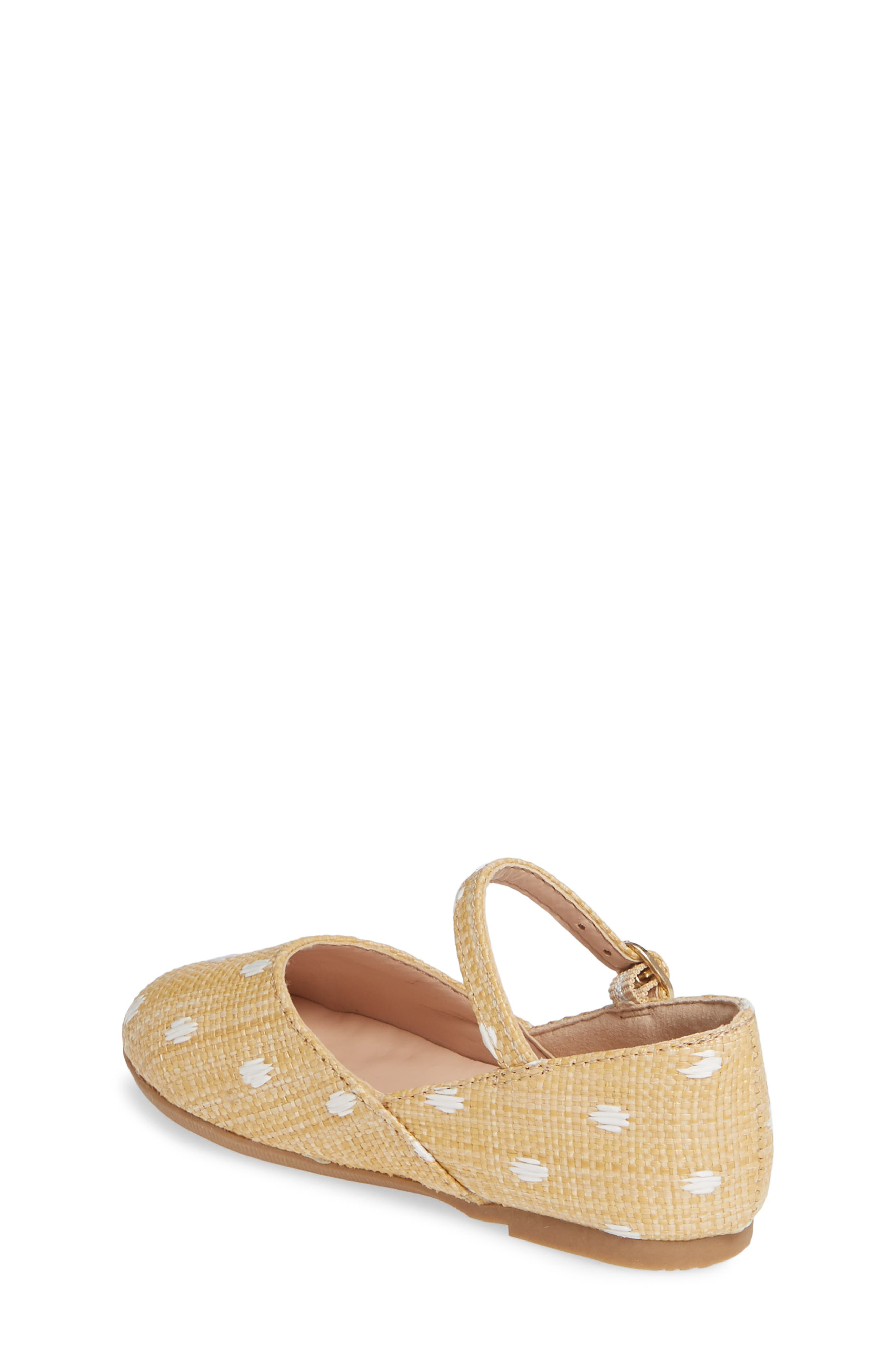 SOMETHING NAVY, Brighton Raffia Mary Jane Flat, Alternate thumbnail 2, color, NATURAL FABRIC