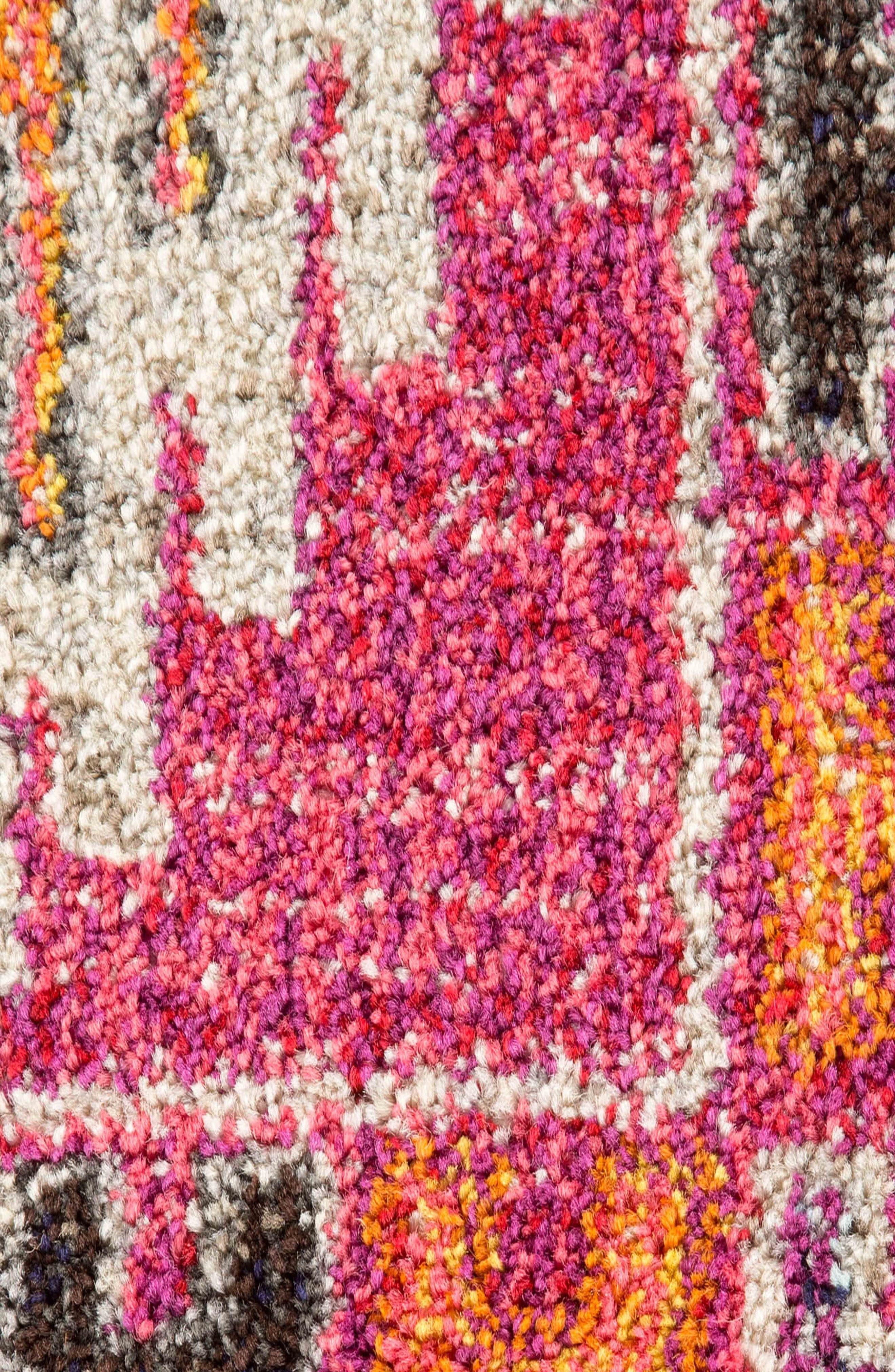 JAIPUR, Britney Rug, Alternate thumbnail 4, color, FUSCIA/ WHITE
