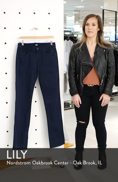 Normandie Slim Straight Leg Twill Pants, sales video thumbnail