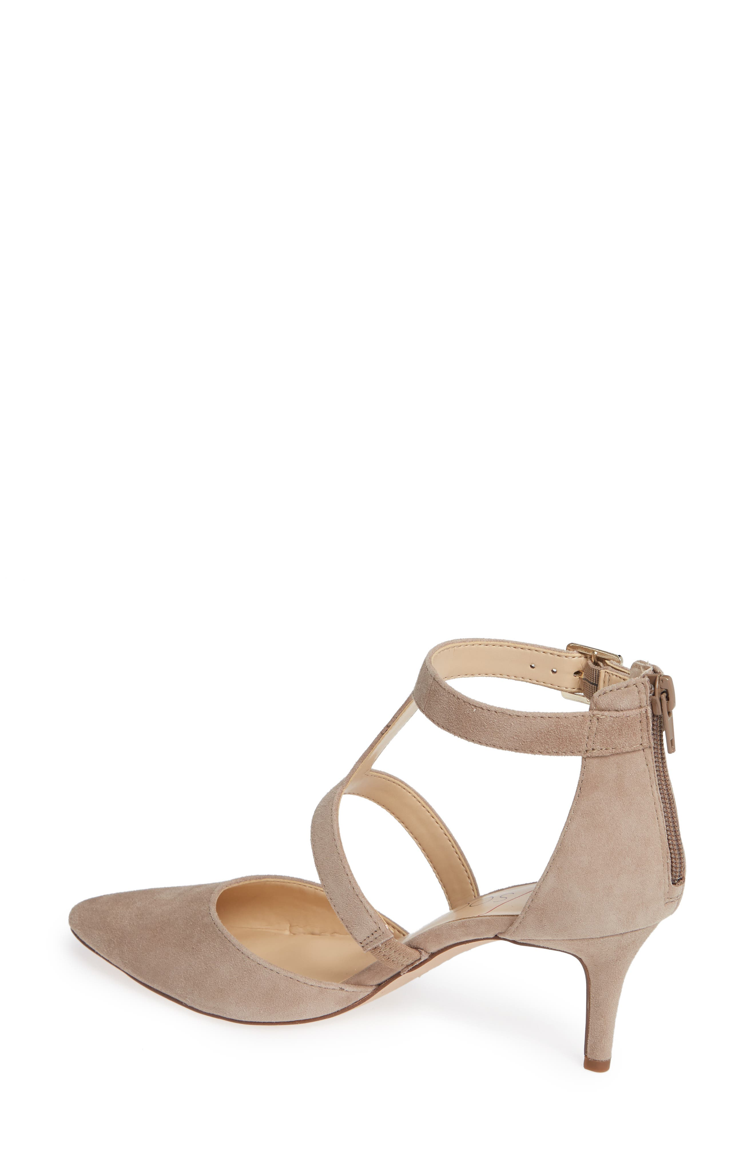 SOLE SOCIETY, Edelyn Pump, Alternate thumbnail 2, color, FALL TAUPE SUEDE