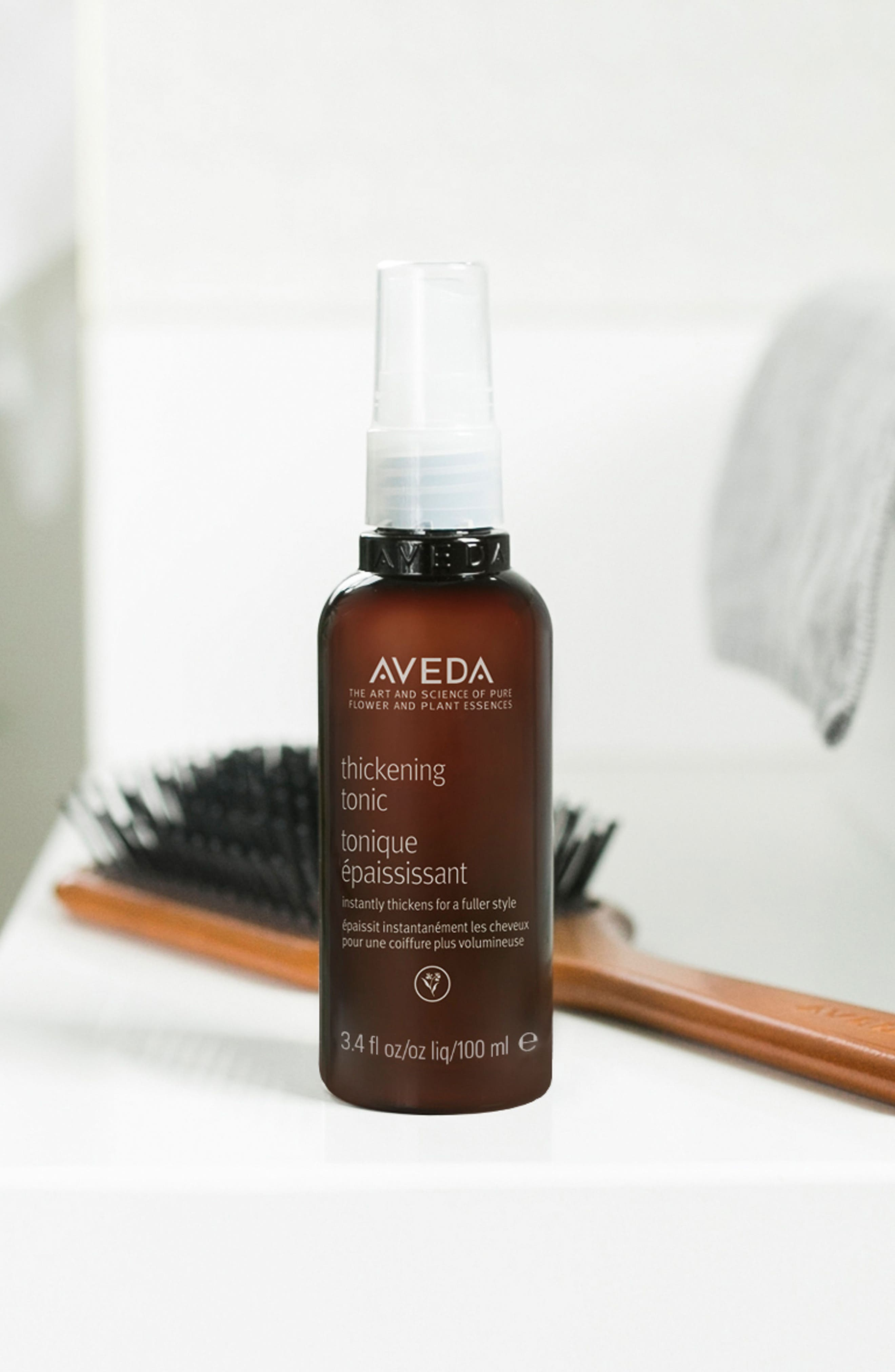 AVEDA, Thickening Tonic, Alternate thumbnail 4, color, NO COLOR