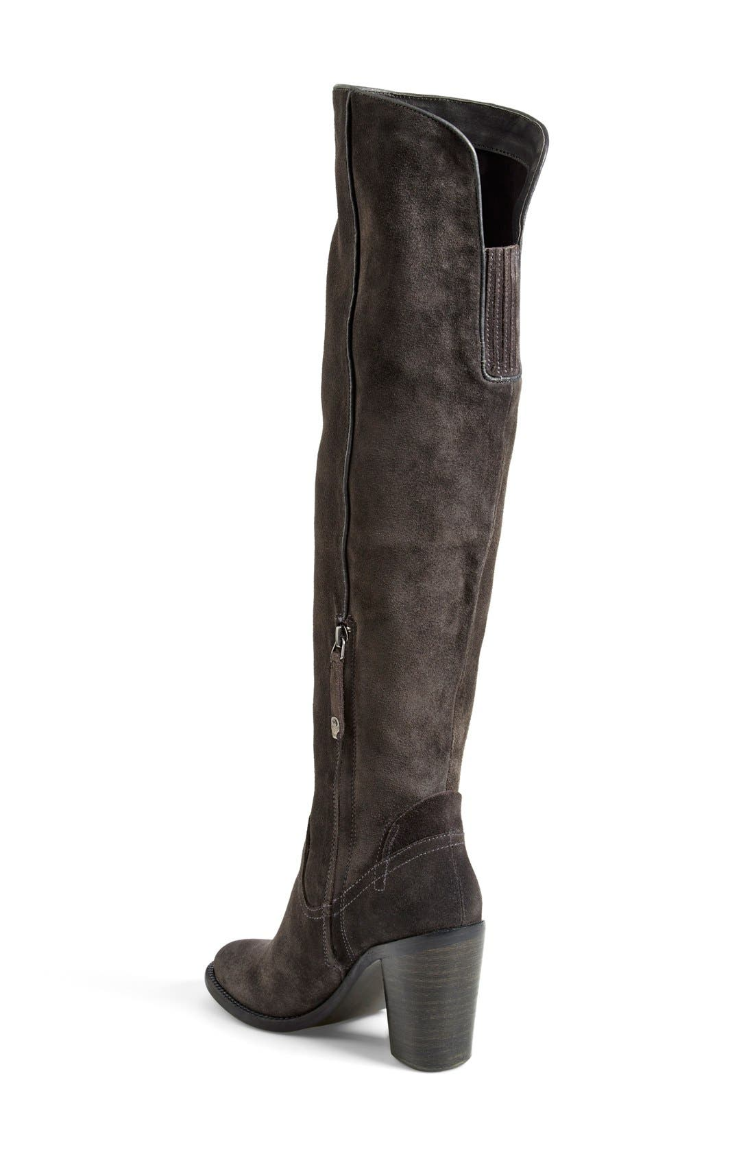 DOLCE VITA, 'Ohanna' Over the Knee Boot, Alternate thumbnail 4, color, 053