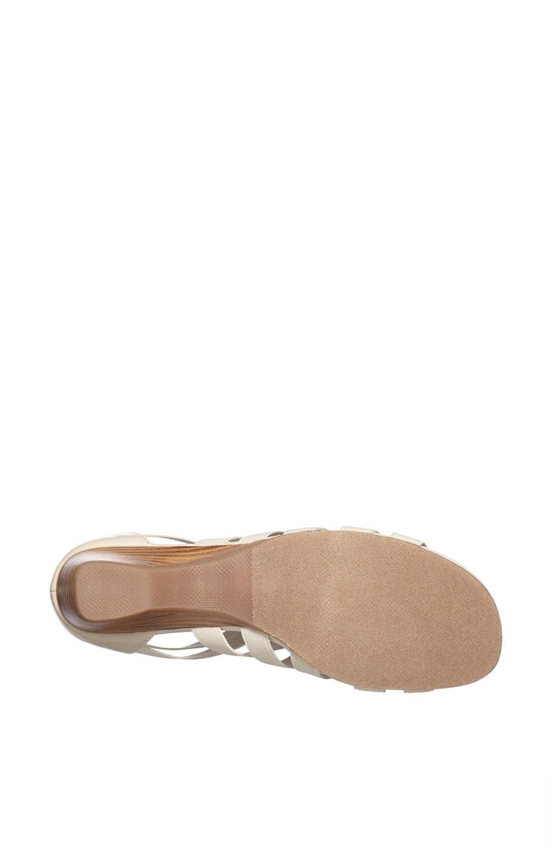 BELLA VITA, 'Paula II' Sandal, Alternate thumbnail 4, color, BONE