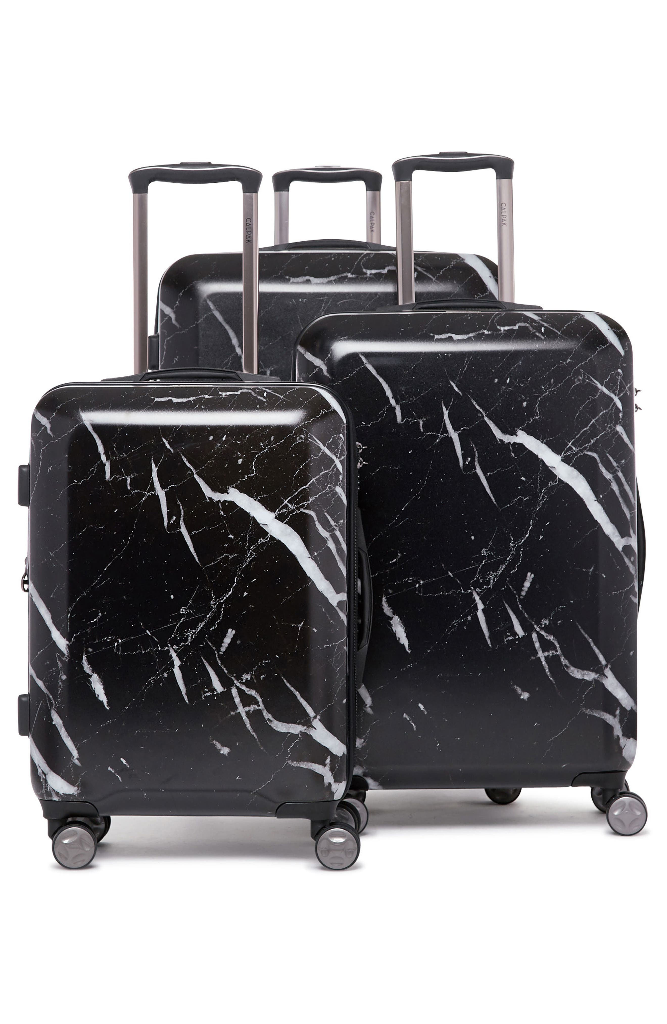 CALPAK, Astyll 22-Inch Rolling Spinner Suitcase, Alternate thumbnail 8, color, MIDNIGHT MARBLE
