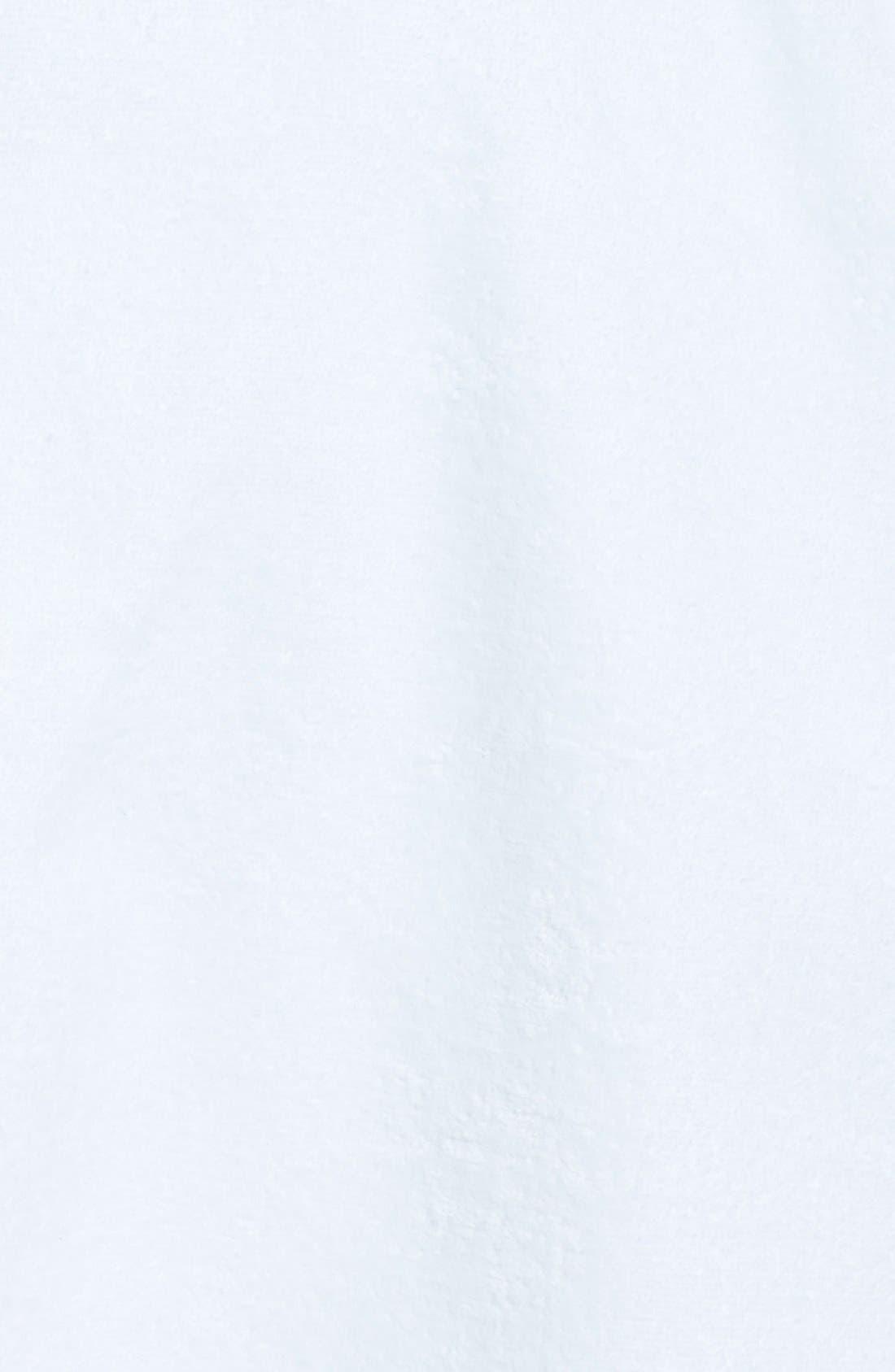 MAJESTIC INTERNATIONAL, Velour Shave Wrap, Alternate thumbnail 3, color, WHITE