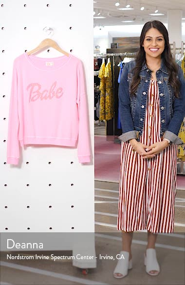 Babe Sweatshirt, sales video thumbnail
