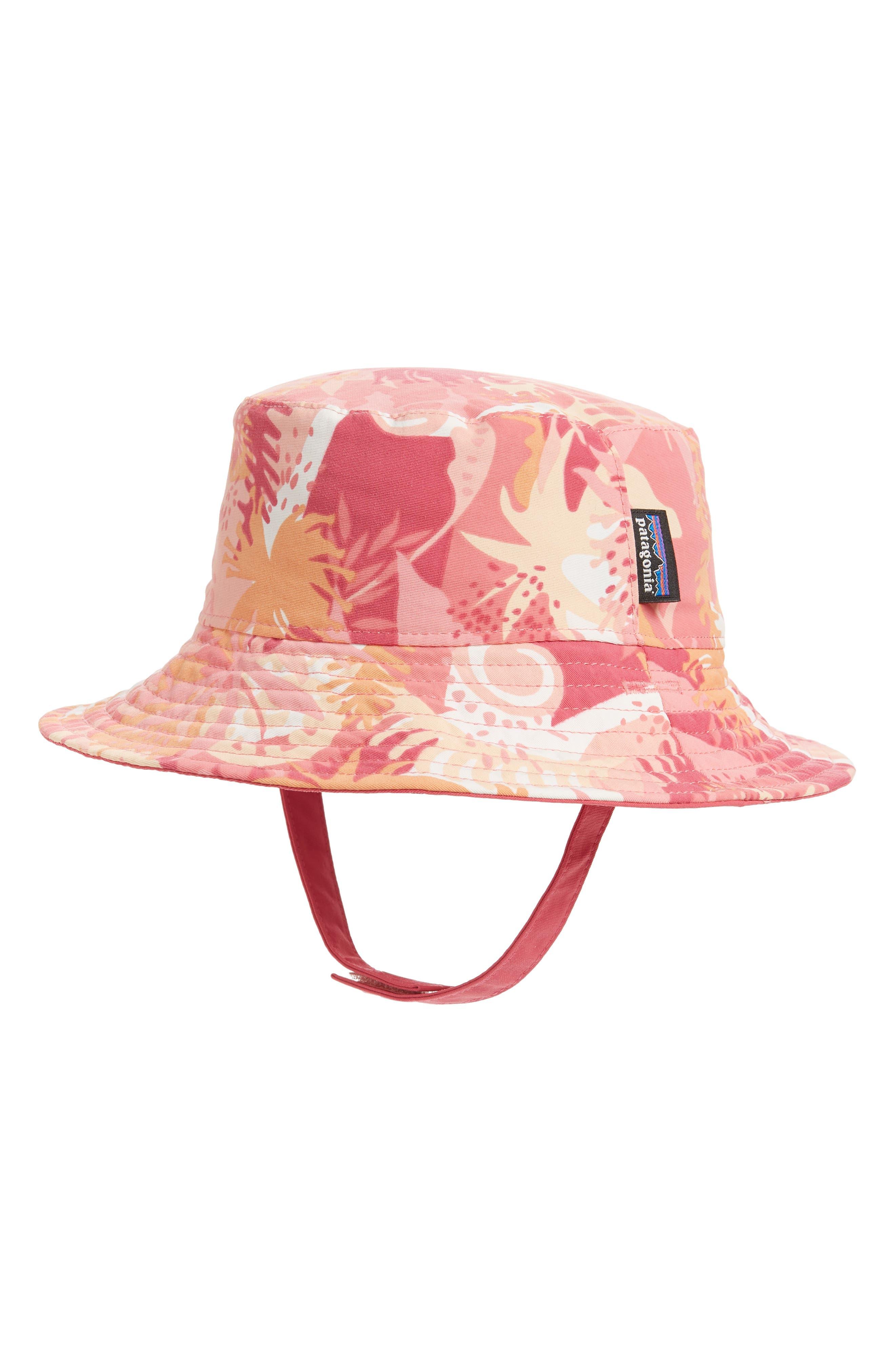 PATAGONIA, Bucket Hat, Main thumbnail 1, color, WILD WARATAH/ PETRA PINK
