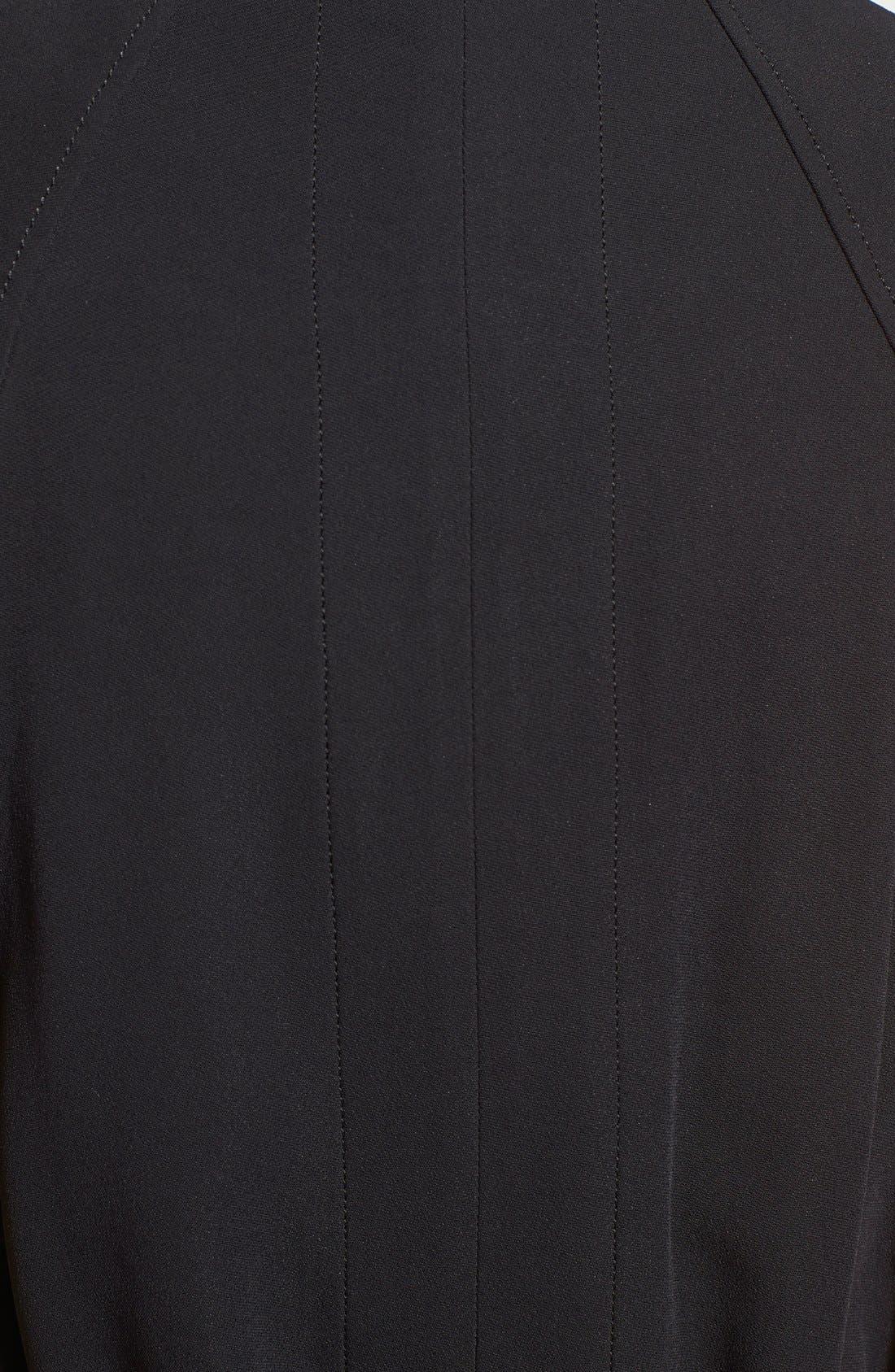 HELMUT LANG, 'Torsion' Long Vest, Alternate thumbnail 3, color, 001