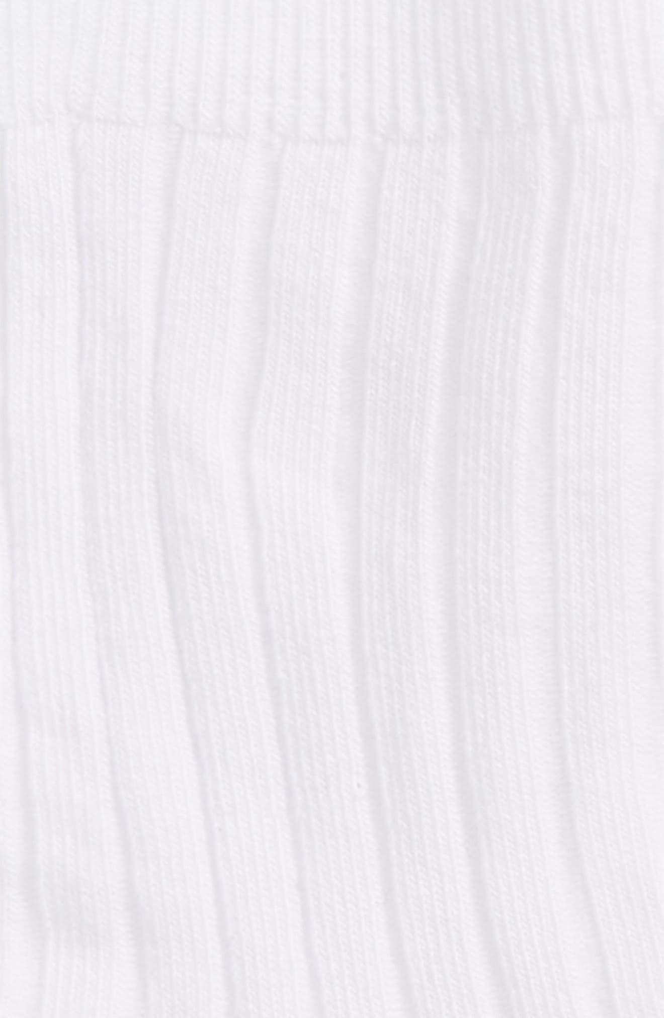 TUCKER + TATE, 3-Pack Dress Socks, Alternate thumbnail 2, color, WHITE