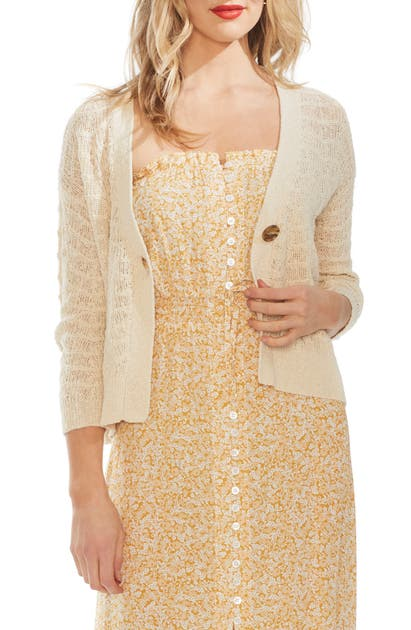 Vince Camuto Tops WAVE STITCH CARDIGAN