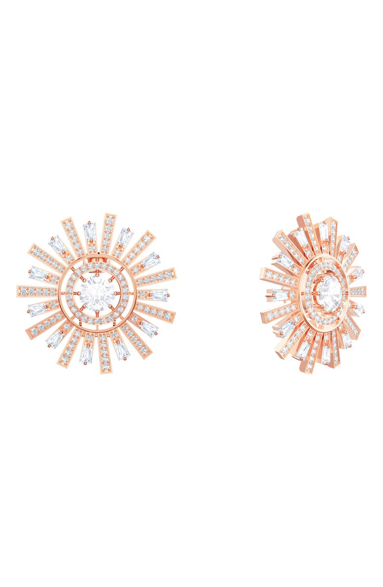 Swarovski Accessories LARGE SUNSHINE CLIP EARRINGS