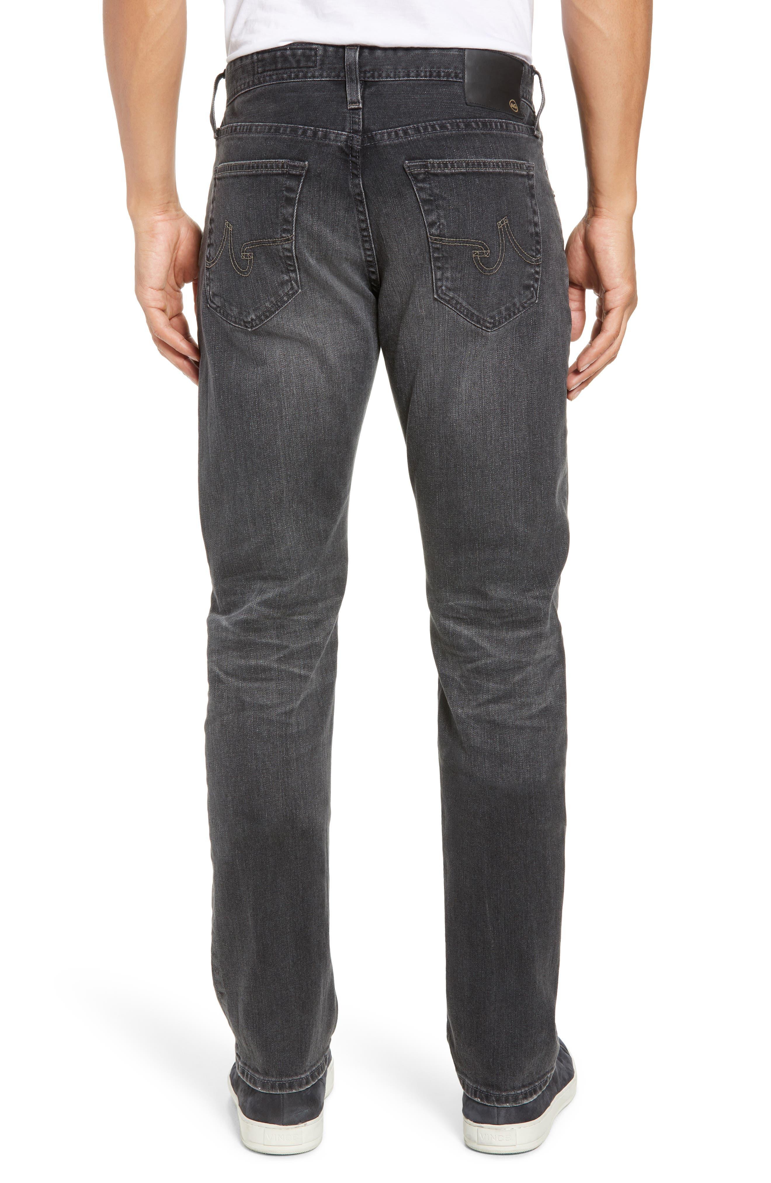 AG, Everett Slim Straight Leg Jeans, Alternate thumbnail 2, color, 6 YEARS ARCADE