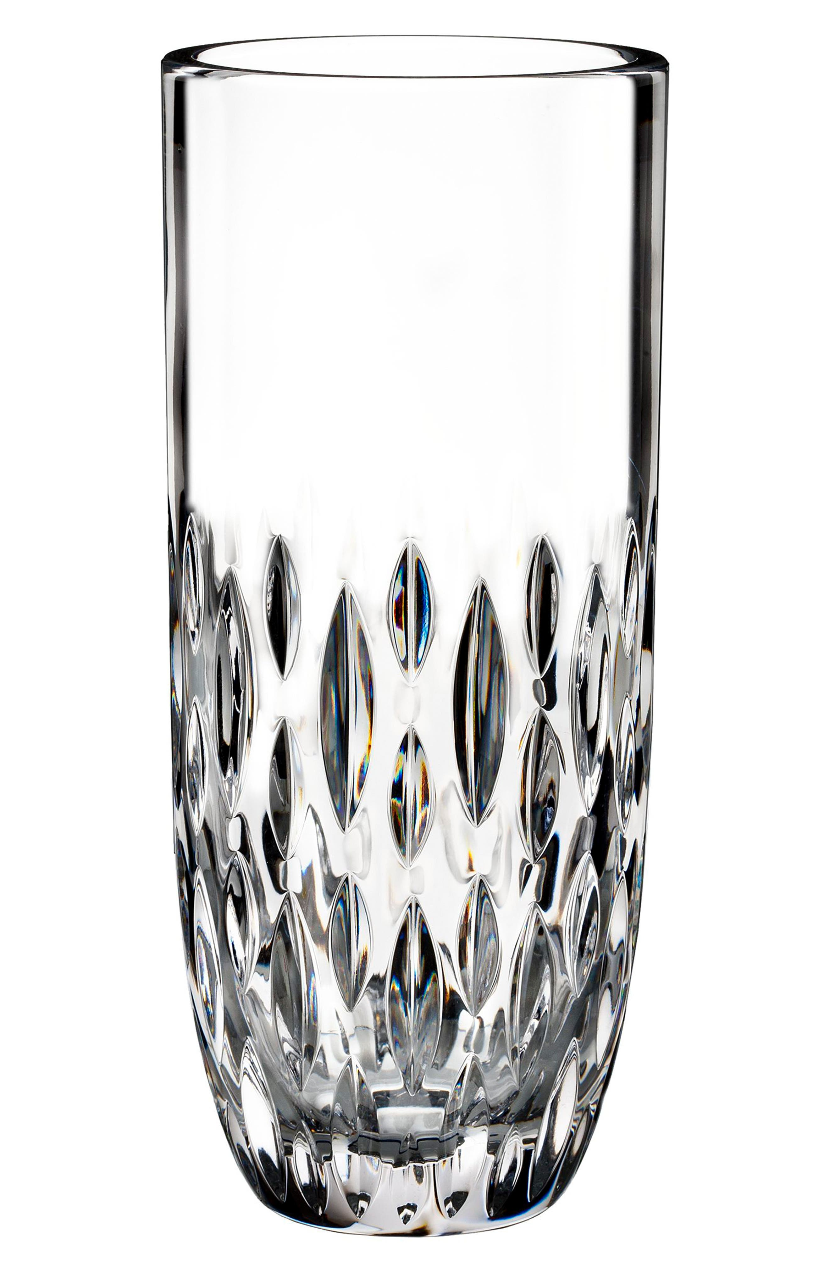 WATERFORD, Enis Leaded Crystal Vase, Main thumbnail 1, color, ENIS